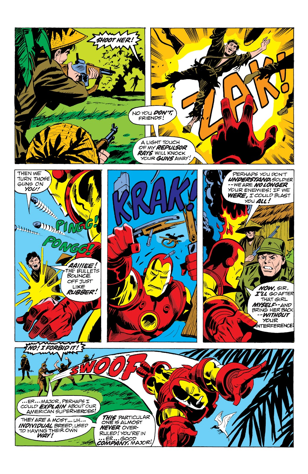 Read online Marvel Masterworks: The Invincible Iron Man comic -  Issue # TPB 10 (Part 1) - 12