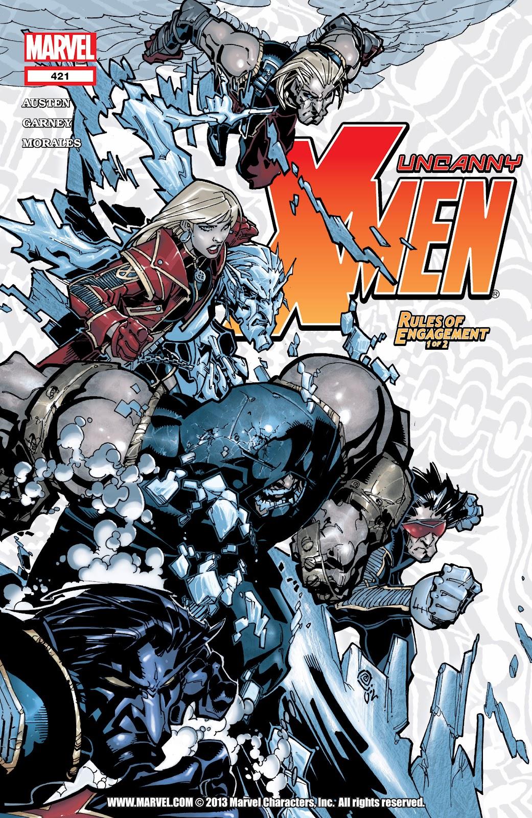 Uncanny X-Men (1963) issue 421 - Page 1