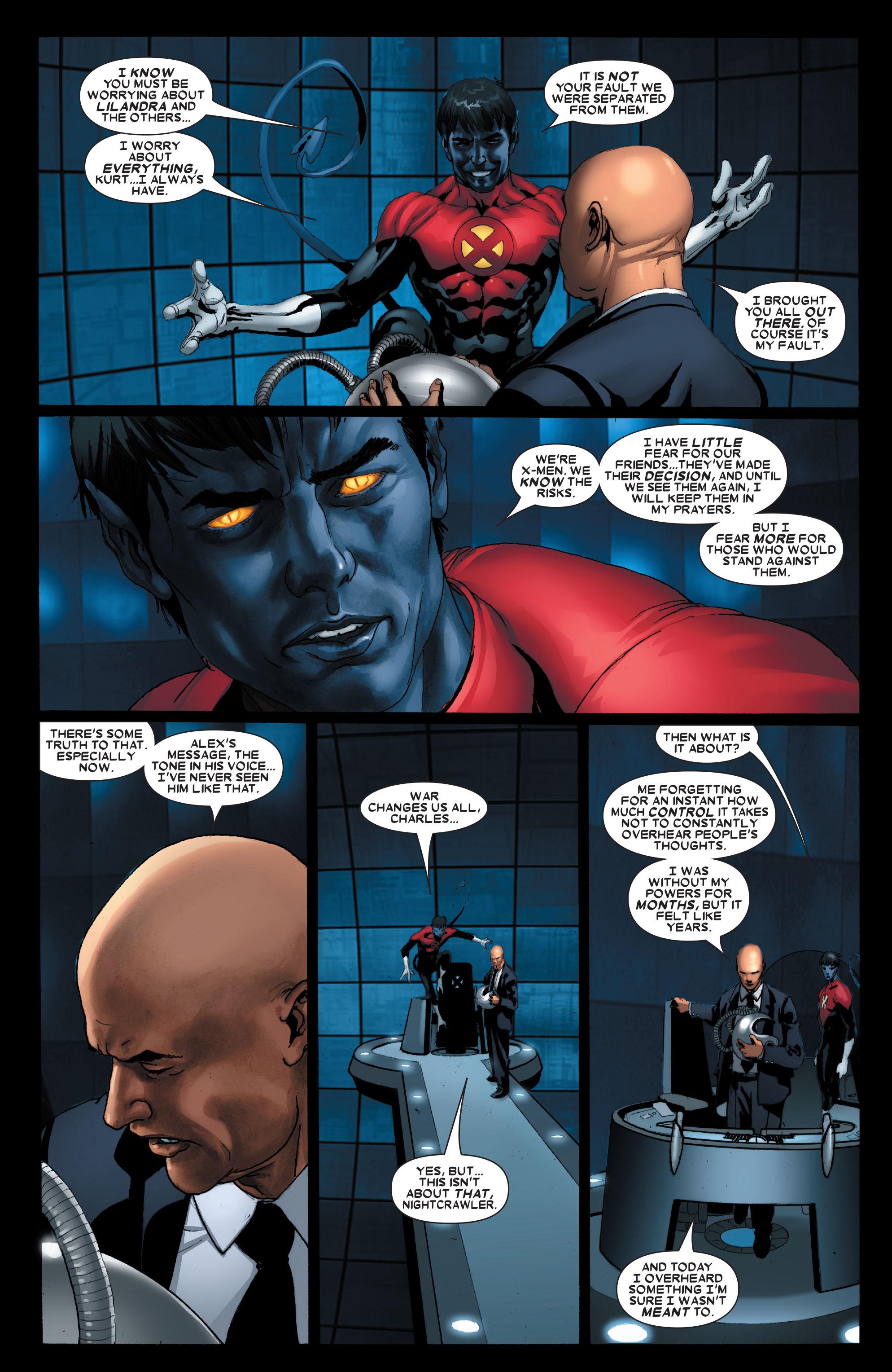 Read online Uncanny X-Men (1963) comic -  Issue #487 - 8