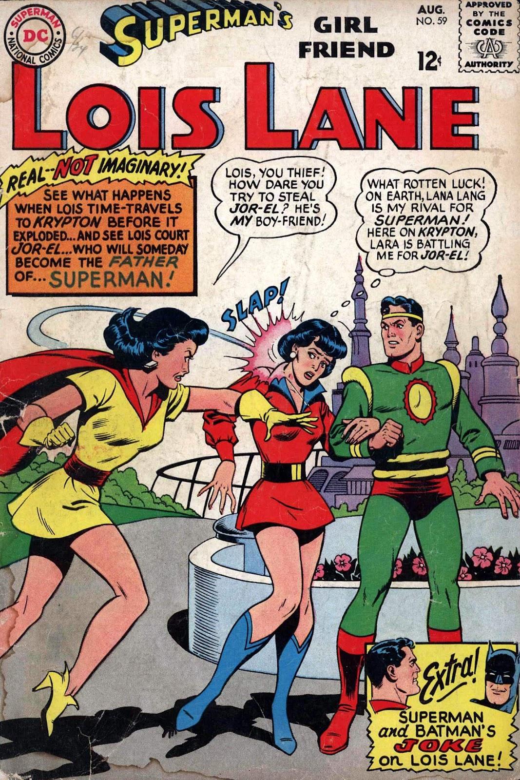 Supermans Girl Friend, Lois Lane 59 Page 1
