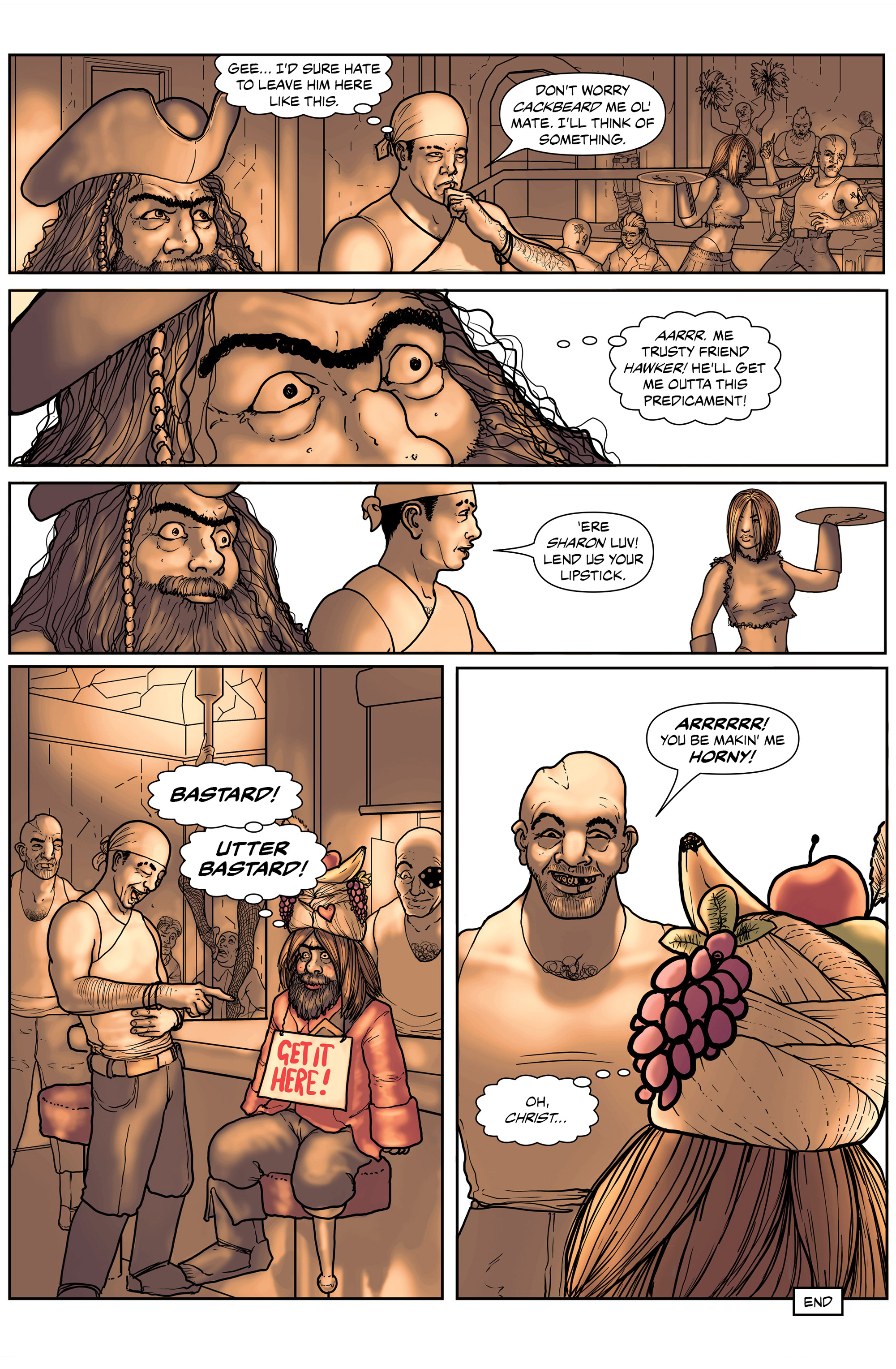 Read online 100% Biodegradable comic -  Issue #14 - 16