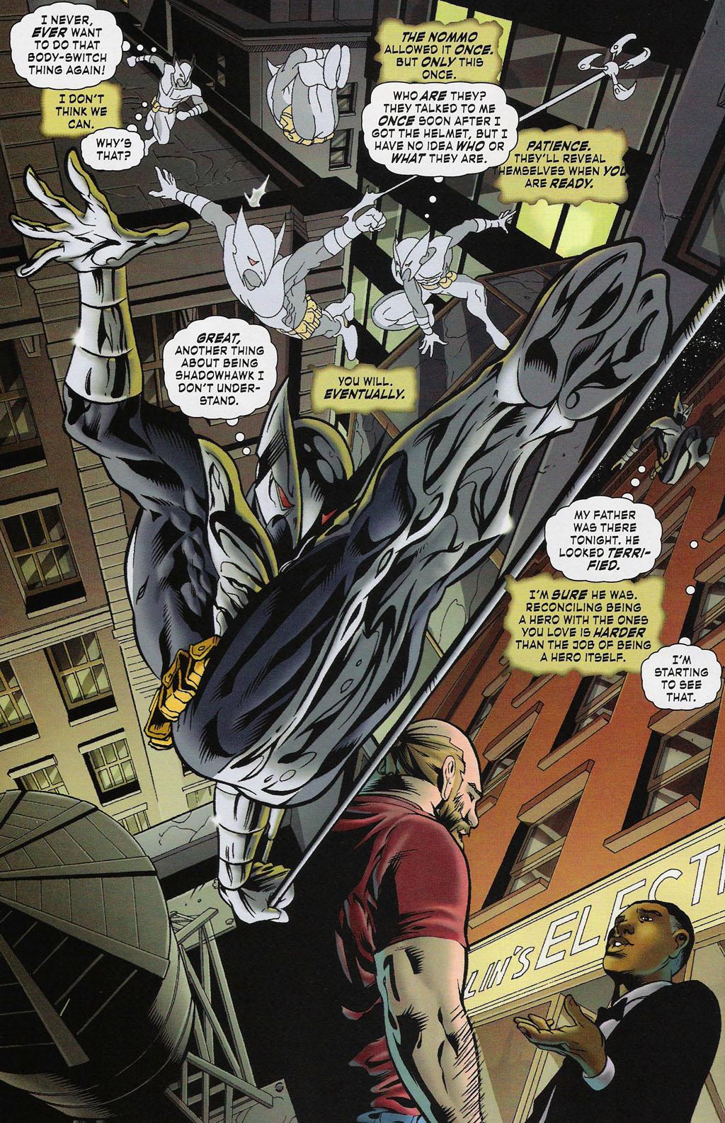 Read online ShadowHawk (2005) comic -  Issue #4 - 21