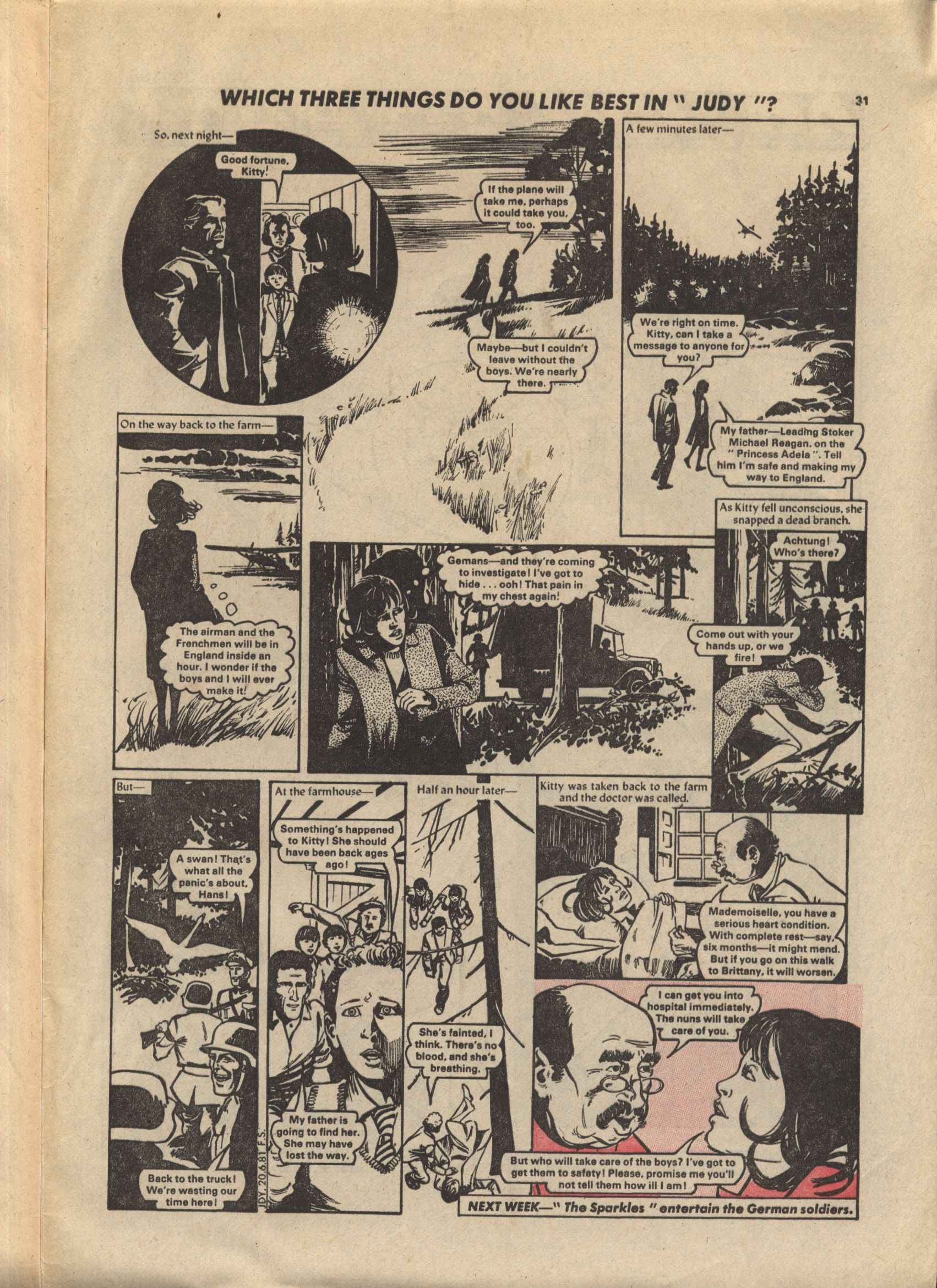 Read online Judy comic -  Issue #1119 - 31