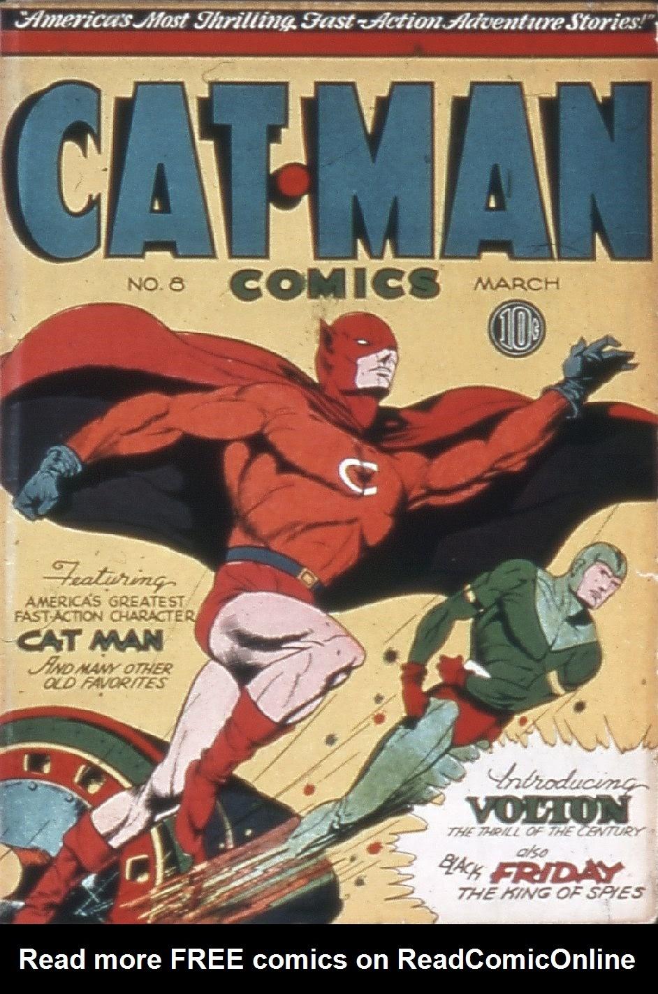 Cat-Man Comics 8 Page 1