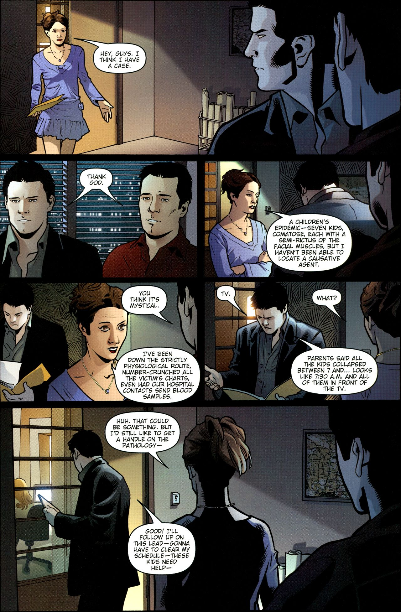 Read online Angel: Smile Time comic -  Issue #1 - 13