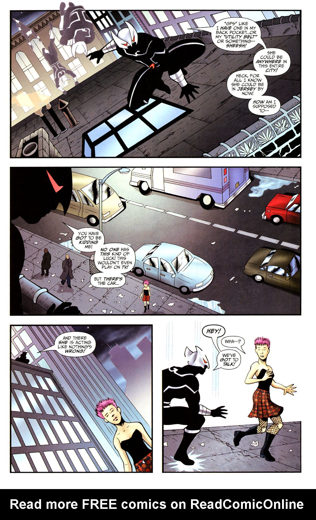 Read online ShadowHawk (2005) comic -  Issue #14 - 12
