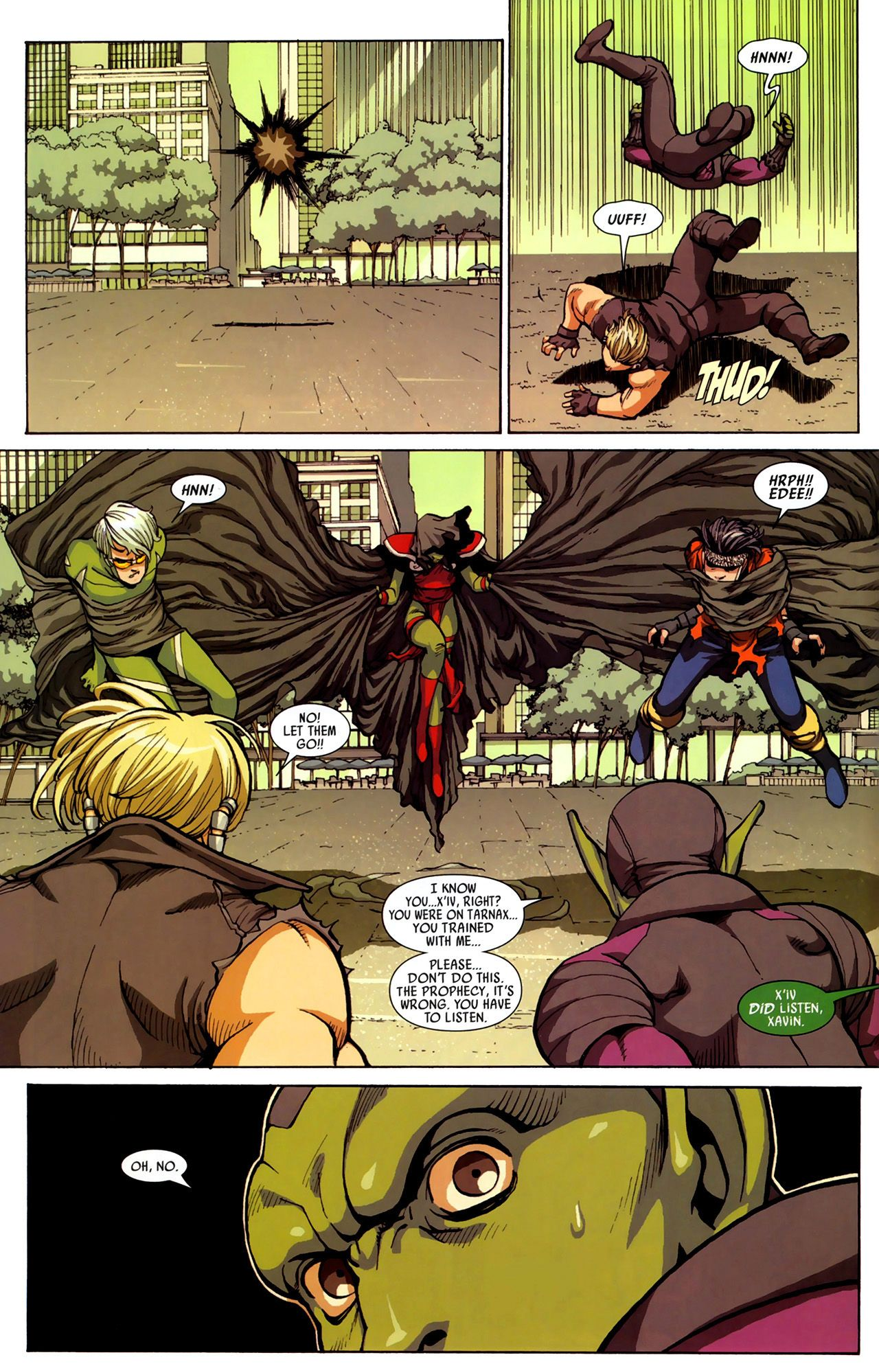 Read online Secret Invasion: Runaways/Young Avengers comic -  Issue #3 - 8