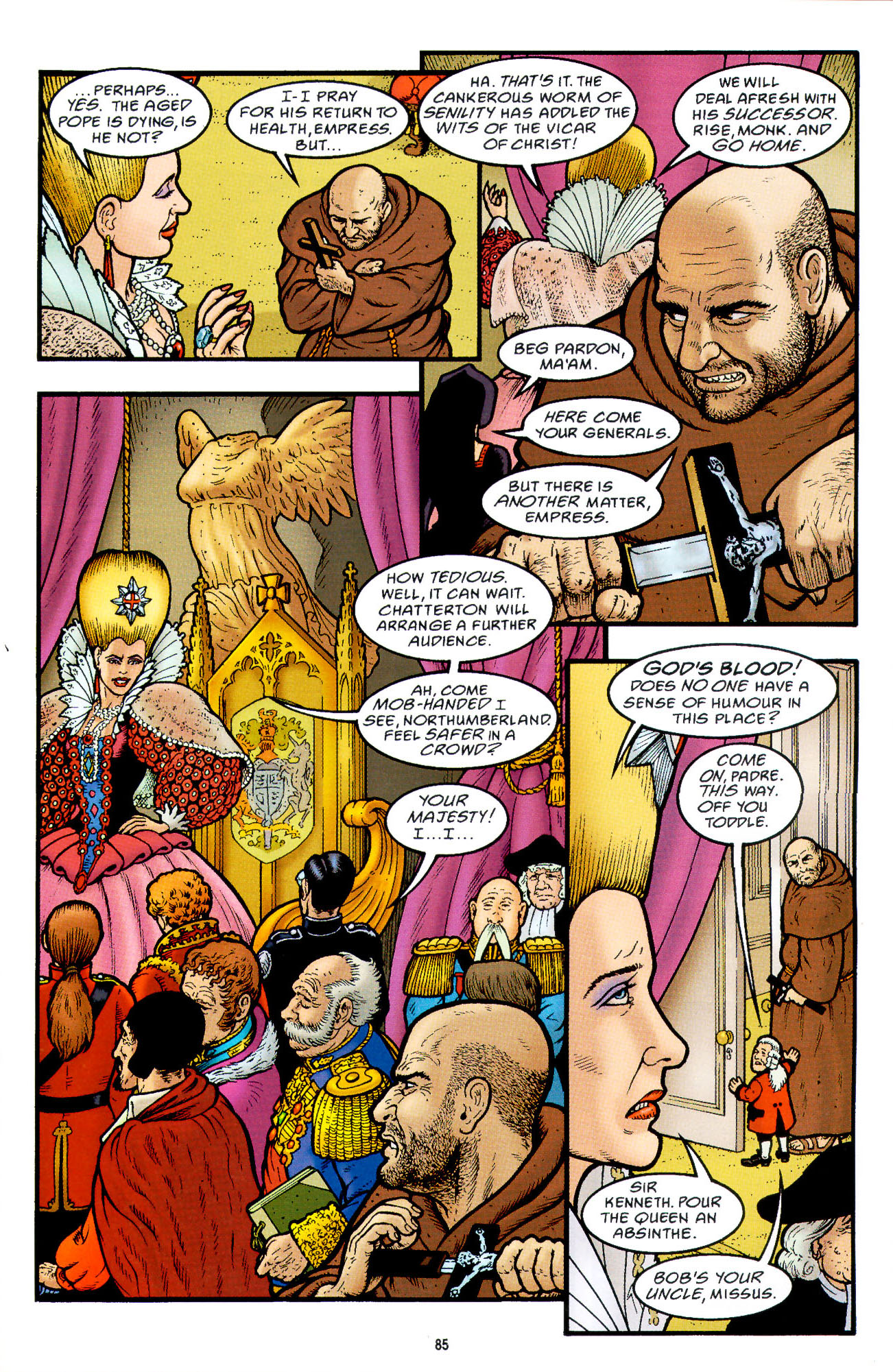 Read online Heart of Empire comic -  Issue #3 - 27