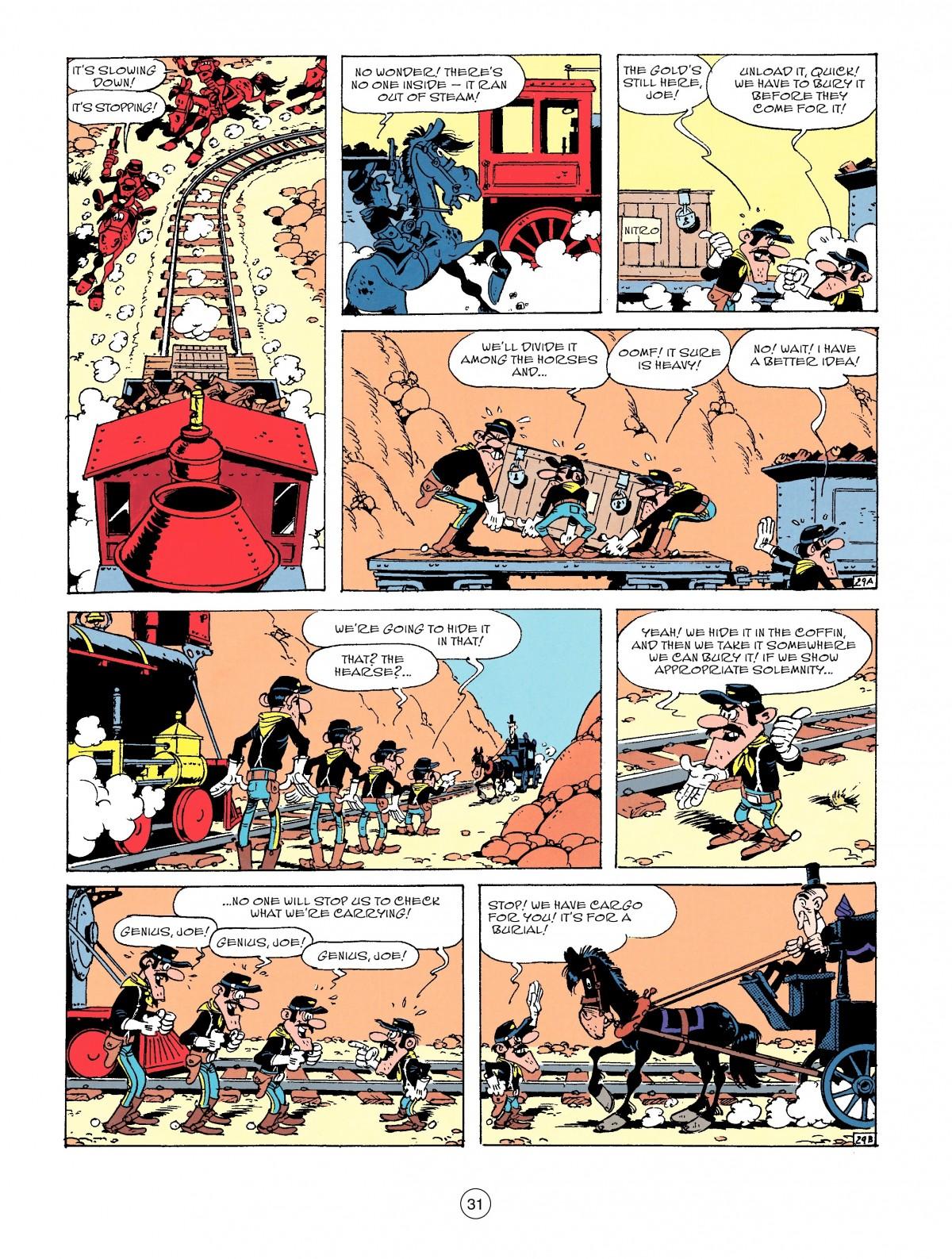 Read online A Lucky Luke Adventure comic -  Issue #53 - 31