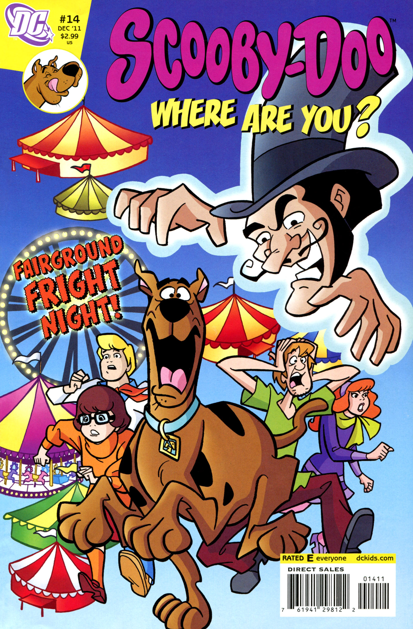 Read online Scooby-Doo: Where Are You? comic -  Issue #14 - 1