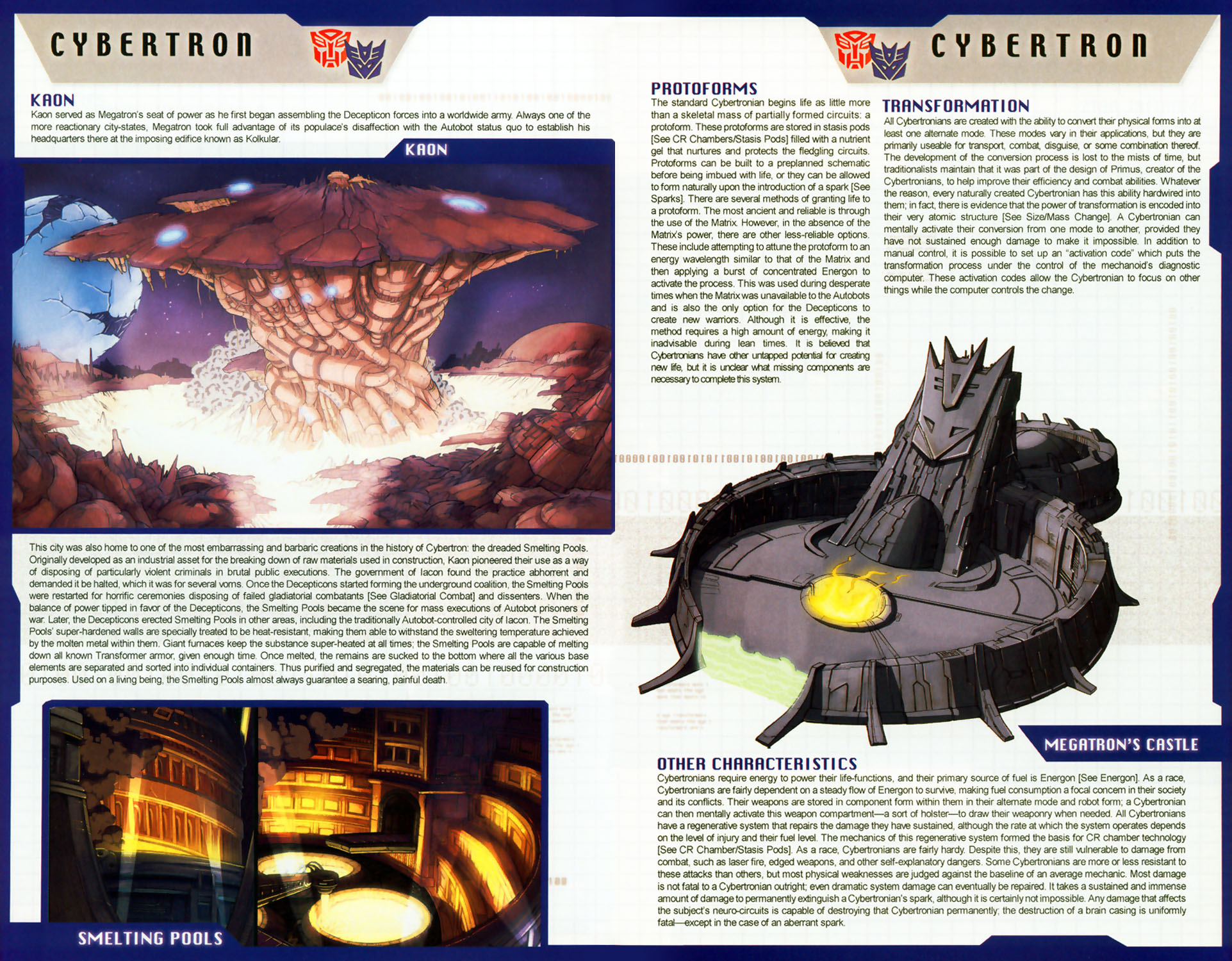 Read online Transformers: More than Meets the Eye comic -  Issue #8 - 13