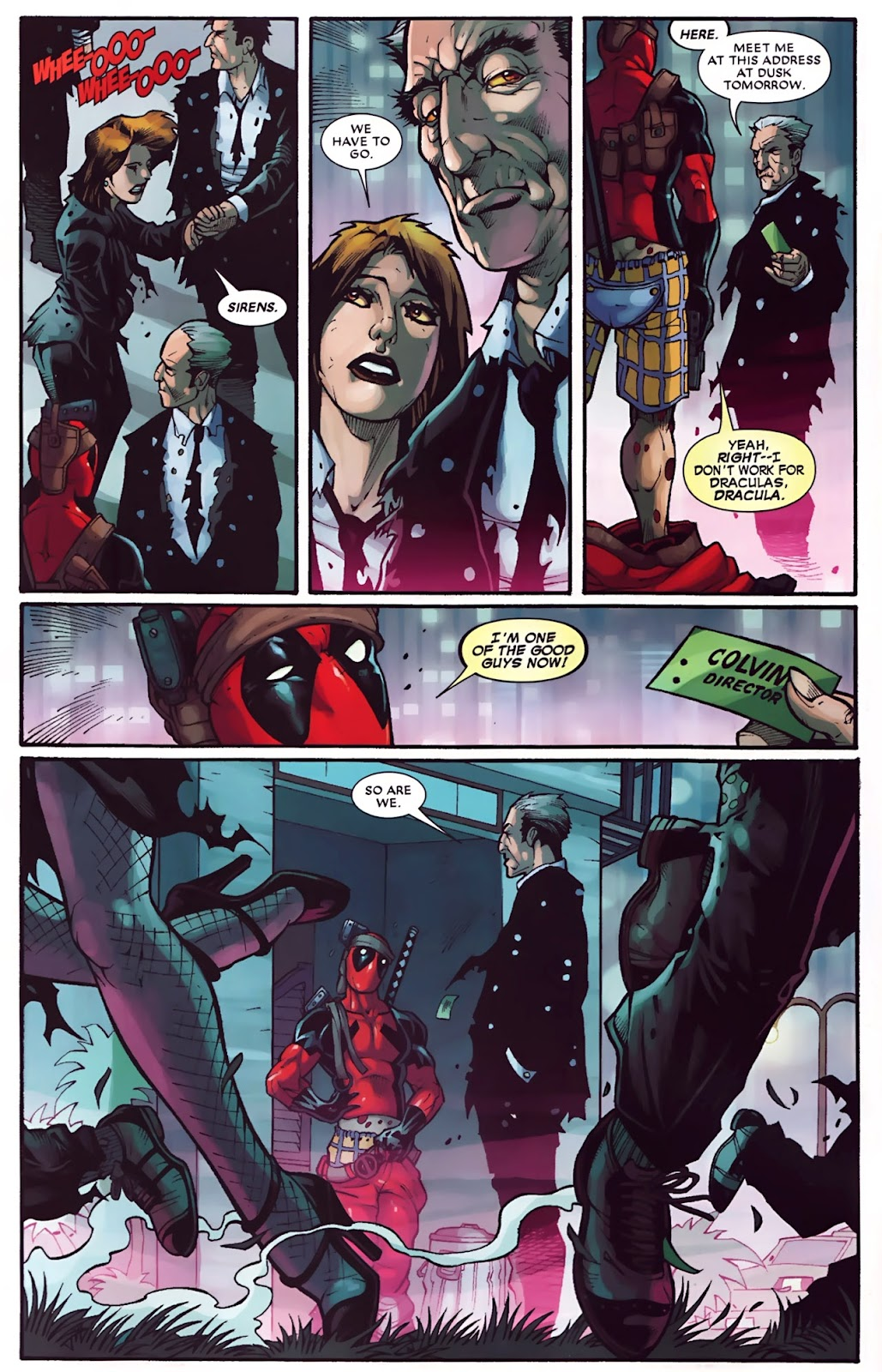 Read online Deadpool (2008) comic -  Issue #30 - 6