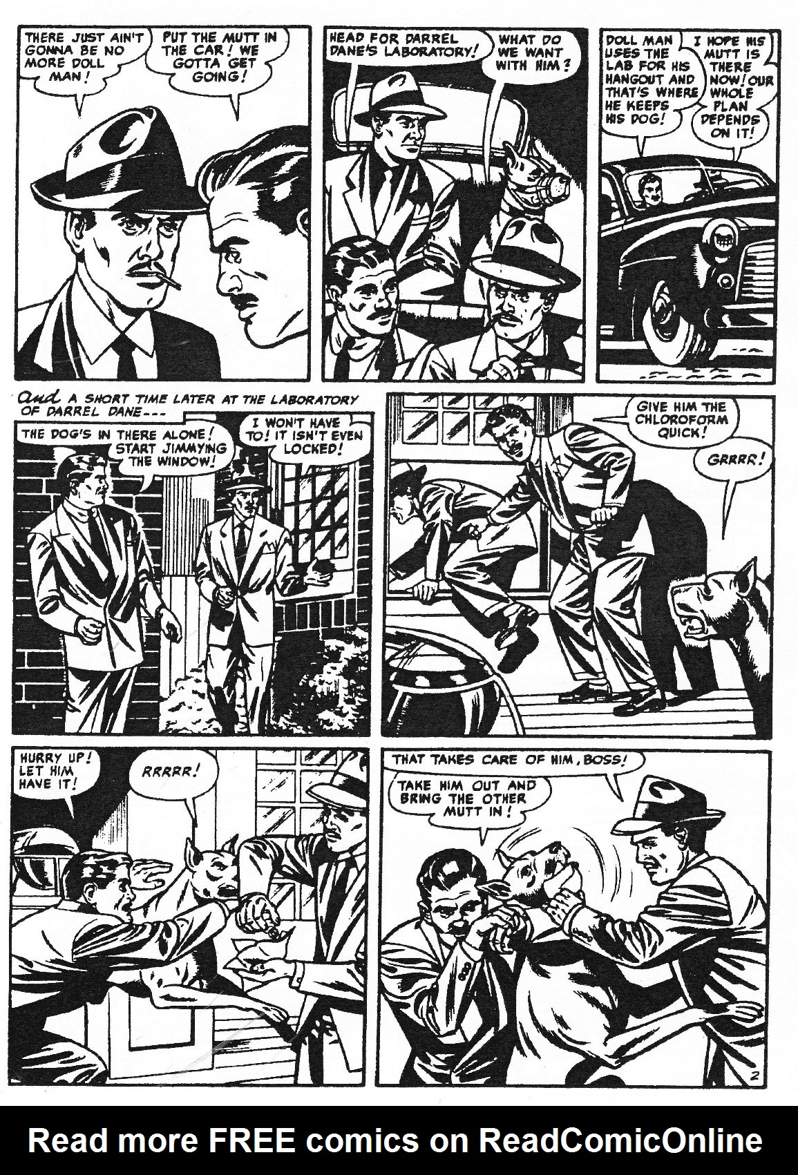 Read online Men of Mystery Comics comic -  Issue #83 - 108