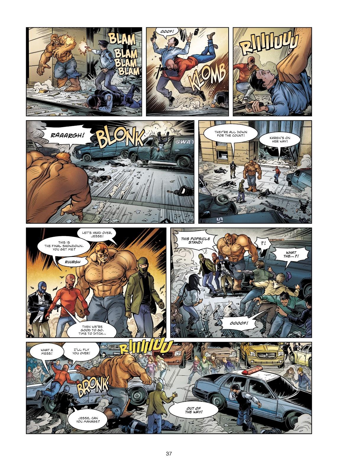 Read online Vigilantes comic -  Issue #4 - 37