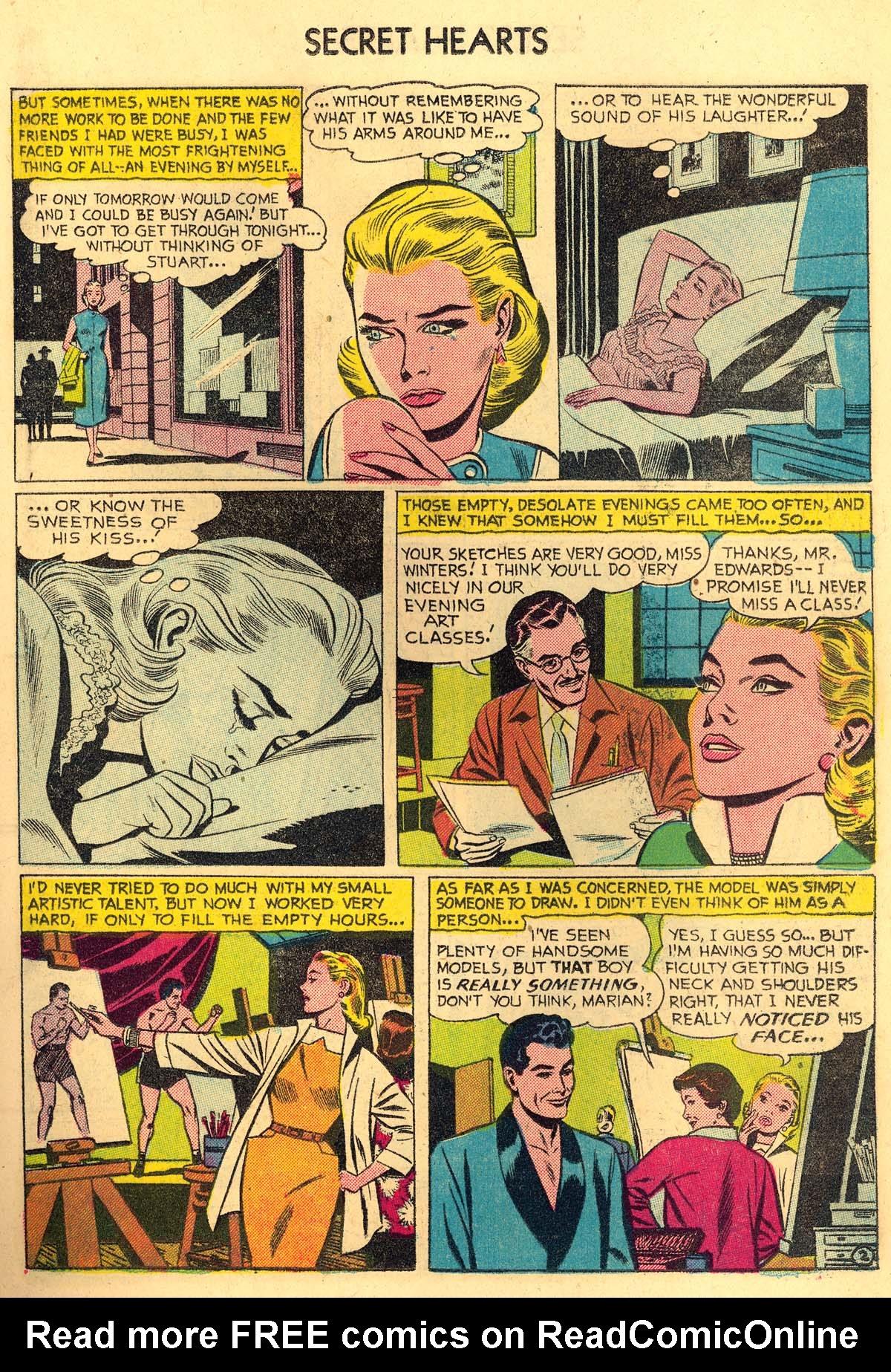 Read online Secret Hearts comic -  Issue #35 - 19