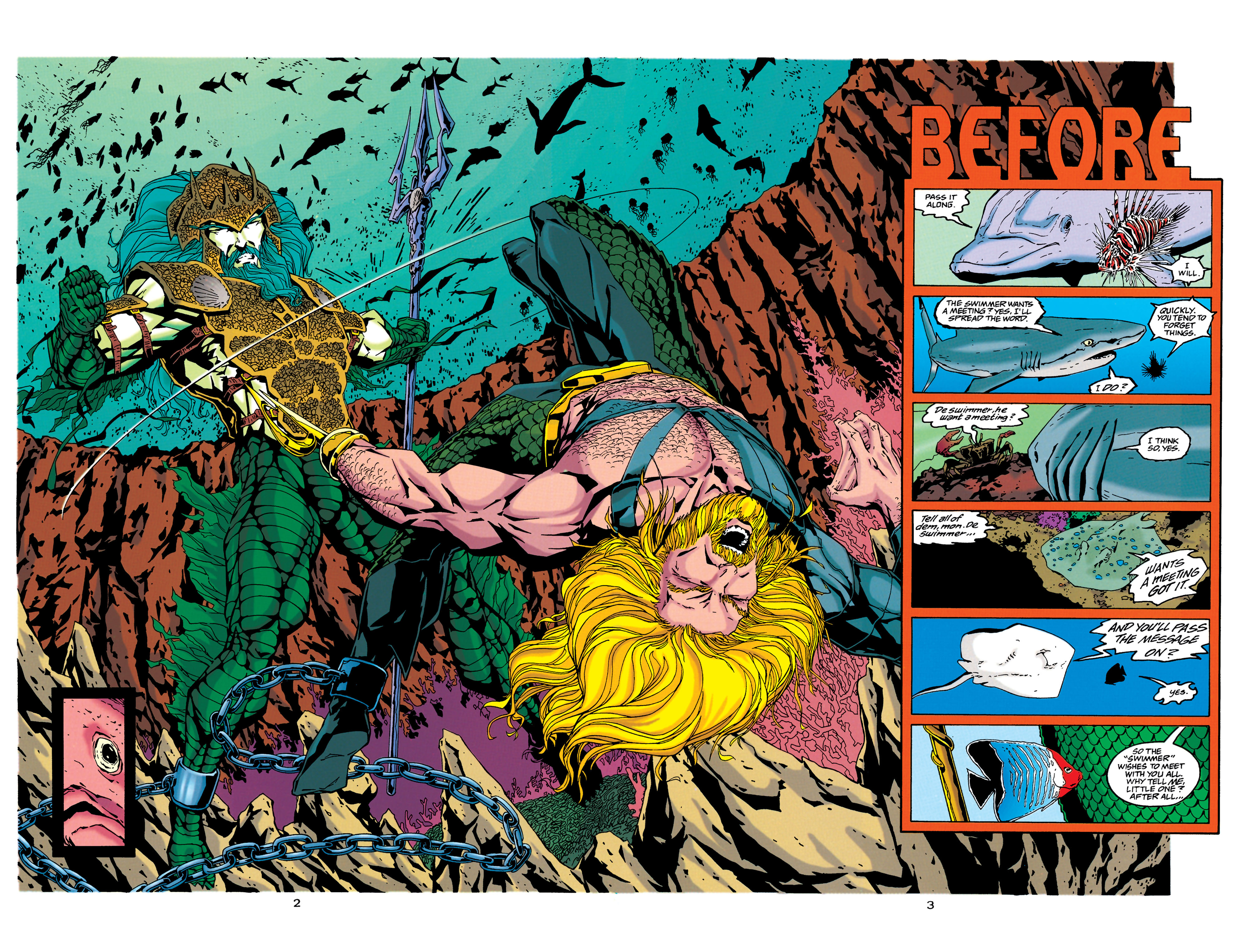 Read online Aquaman (1994) comic -  Issue #34 - 3