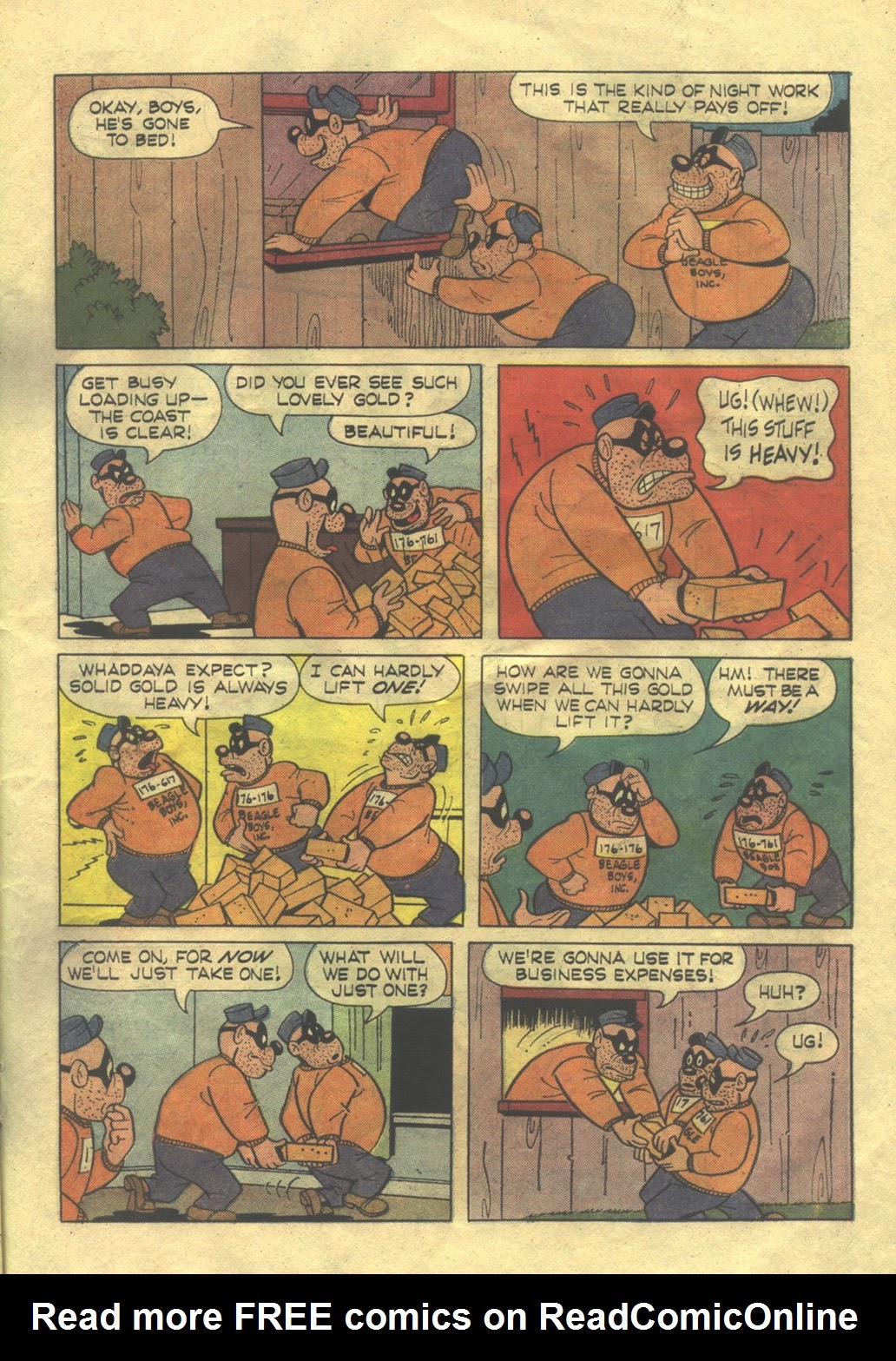 Walt Disney THE BEAGLE BOYS issue 2 - Page 27