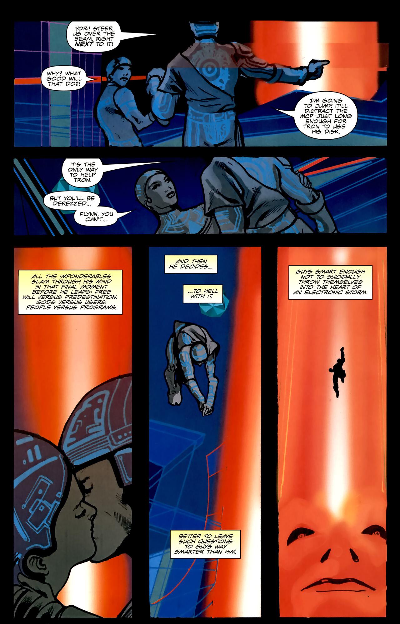 Read online TRON: Original Movie Adaptation comic -  Issue #2 - 31