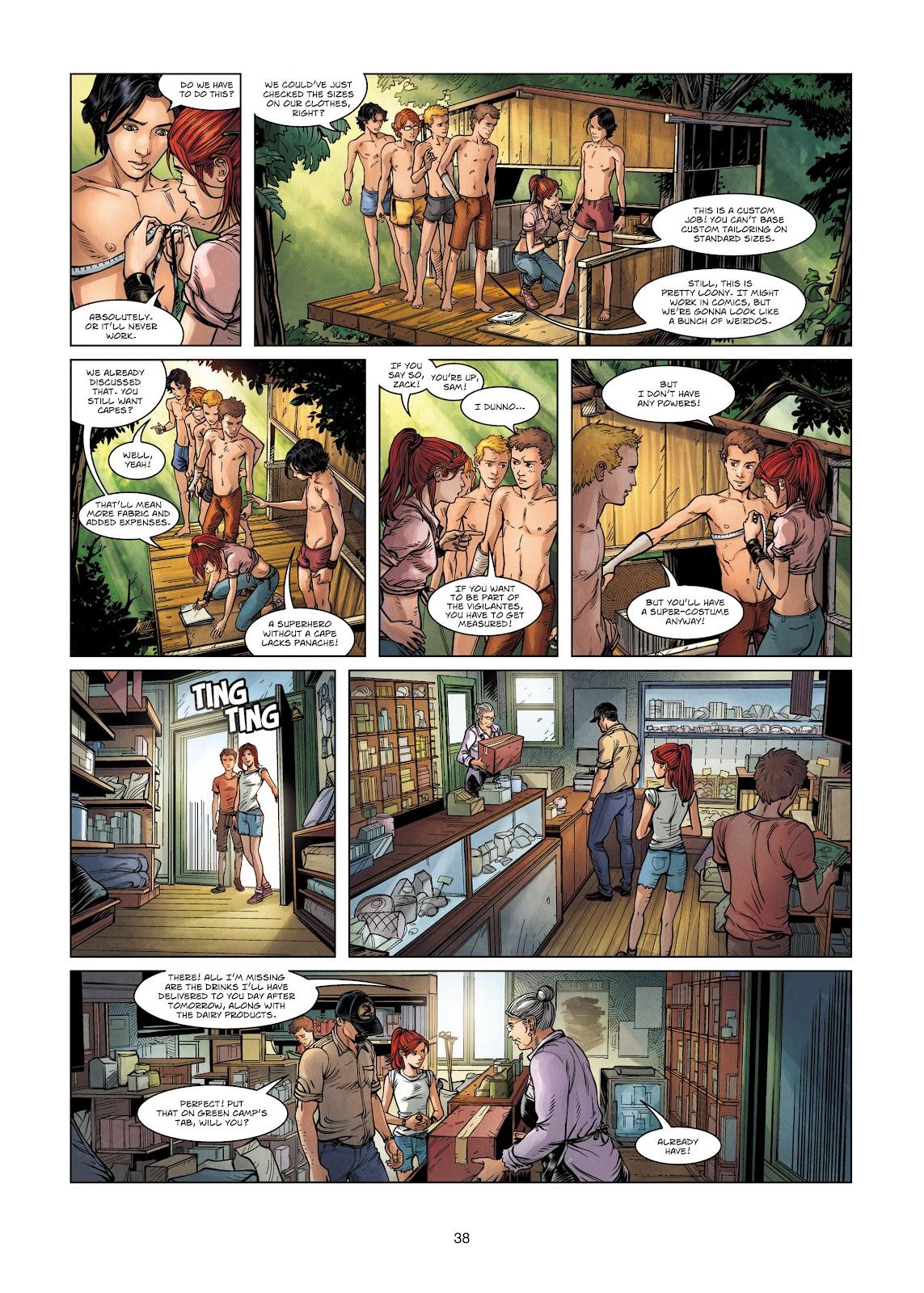 Read online Vigilantes comic -  Issue #2 - 38