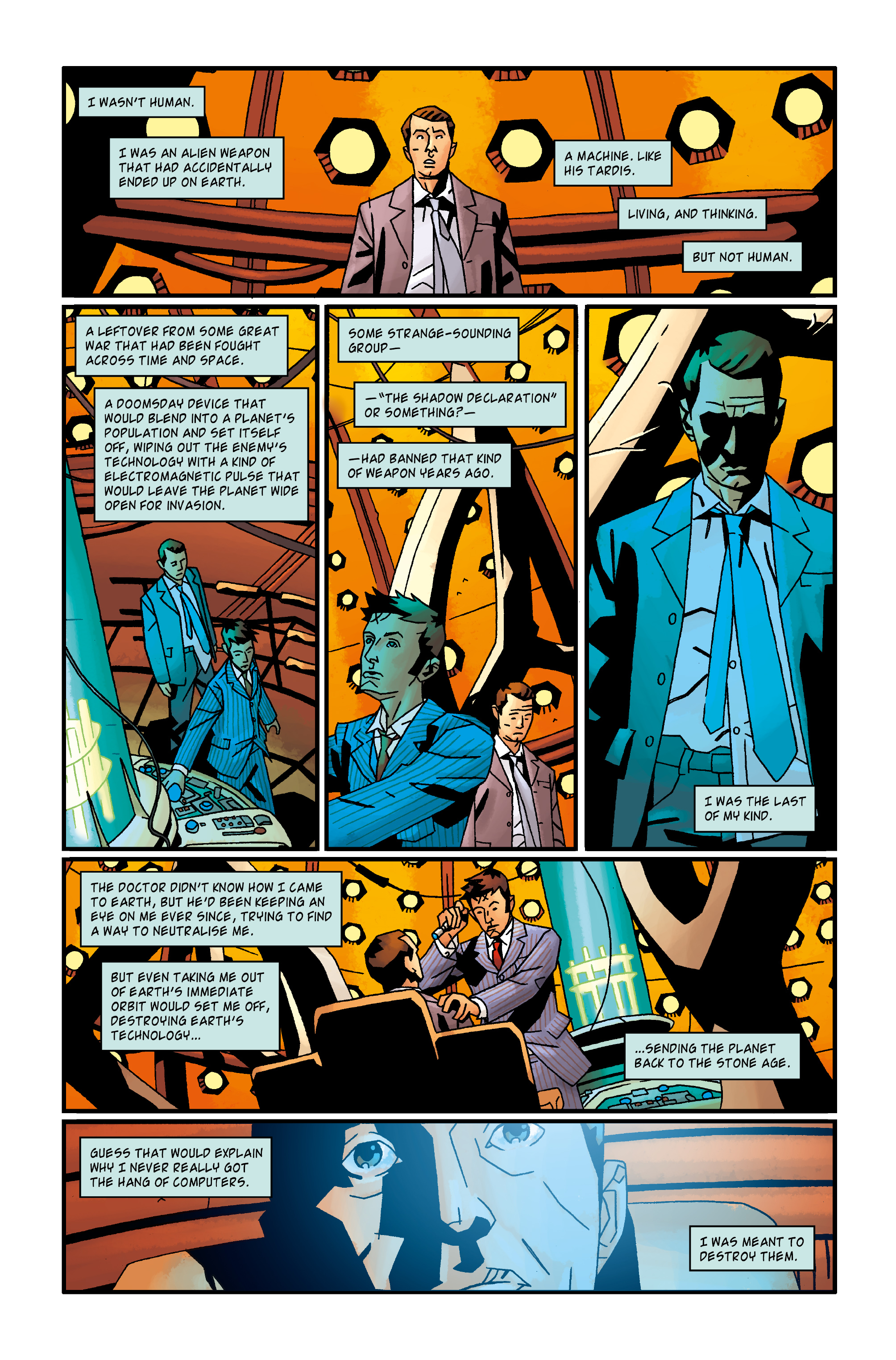 Read online Doctor Who: The Tenth Doctor Archives comic -  Issue #35 - 29
