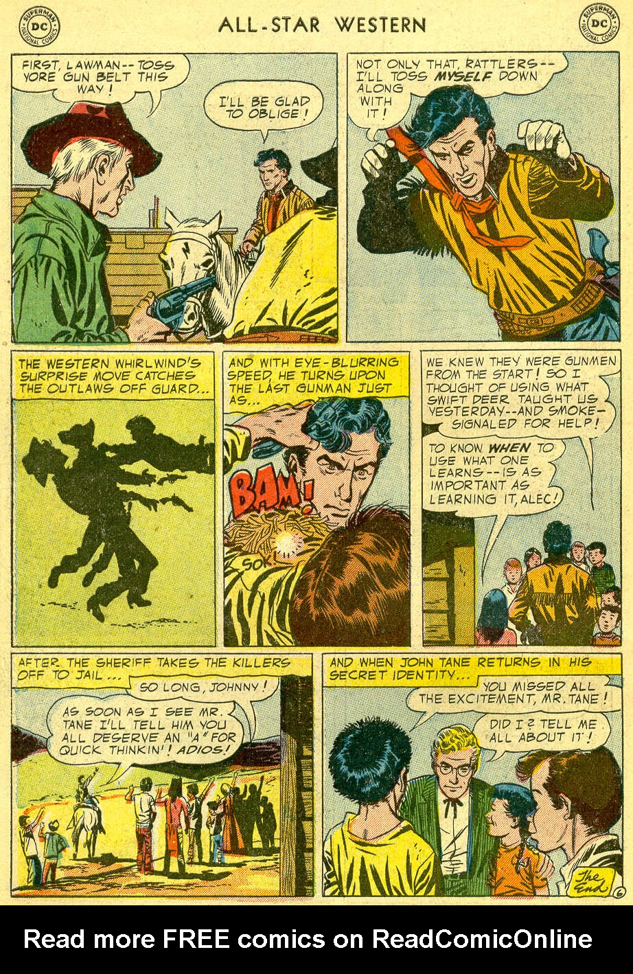 Read online All-Star Western (1951) comic -  Issue #82 - 34