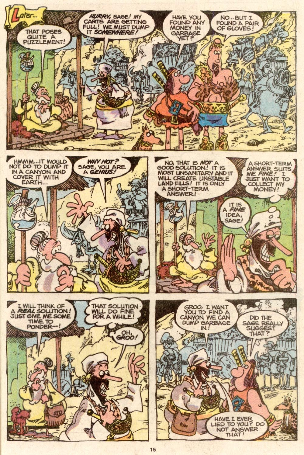 Read online Sergio Aragonés Groo the Wanderer comic -  Issue #65 - 15