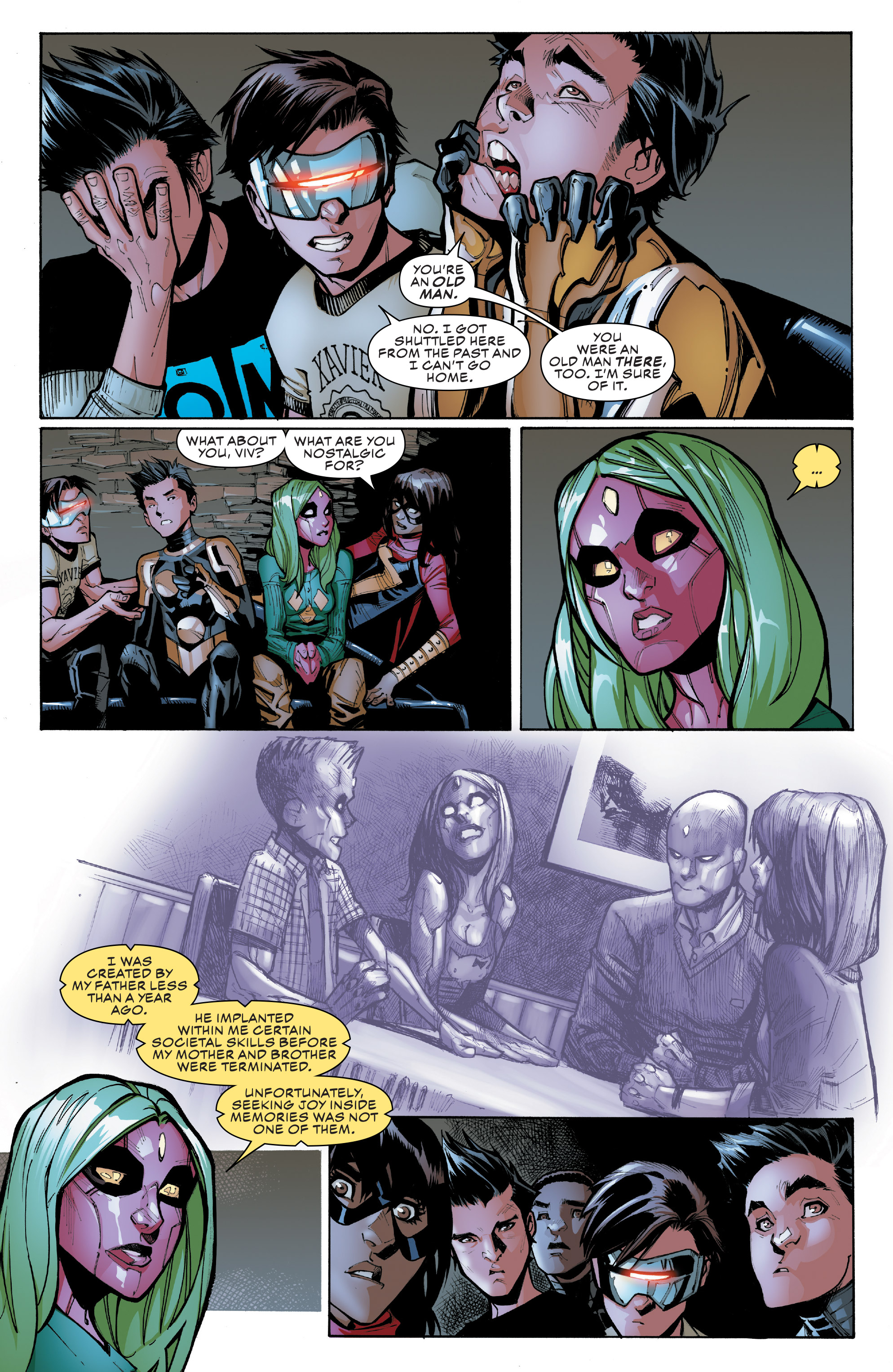 Read online Champions (2016) comic -  Issue #9 - 6