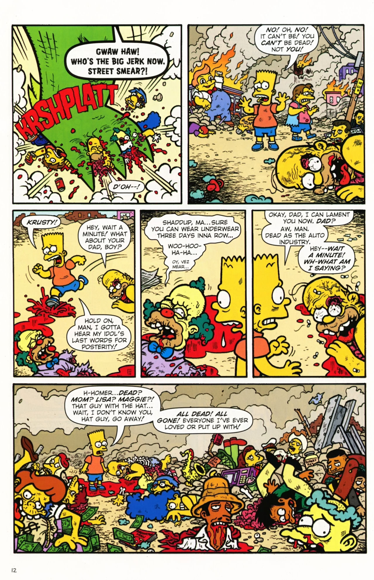 Read online Treehouse of Horror comic -  Issue #16 - 15