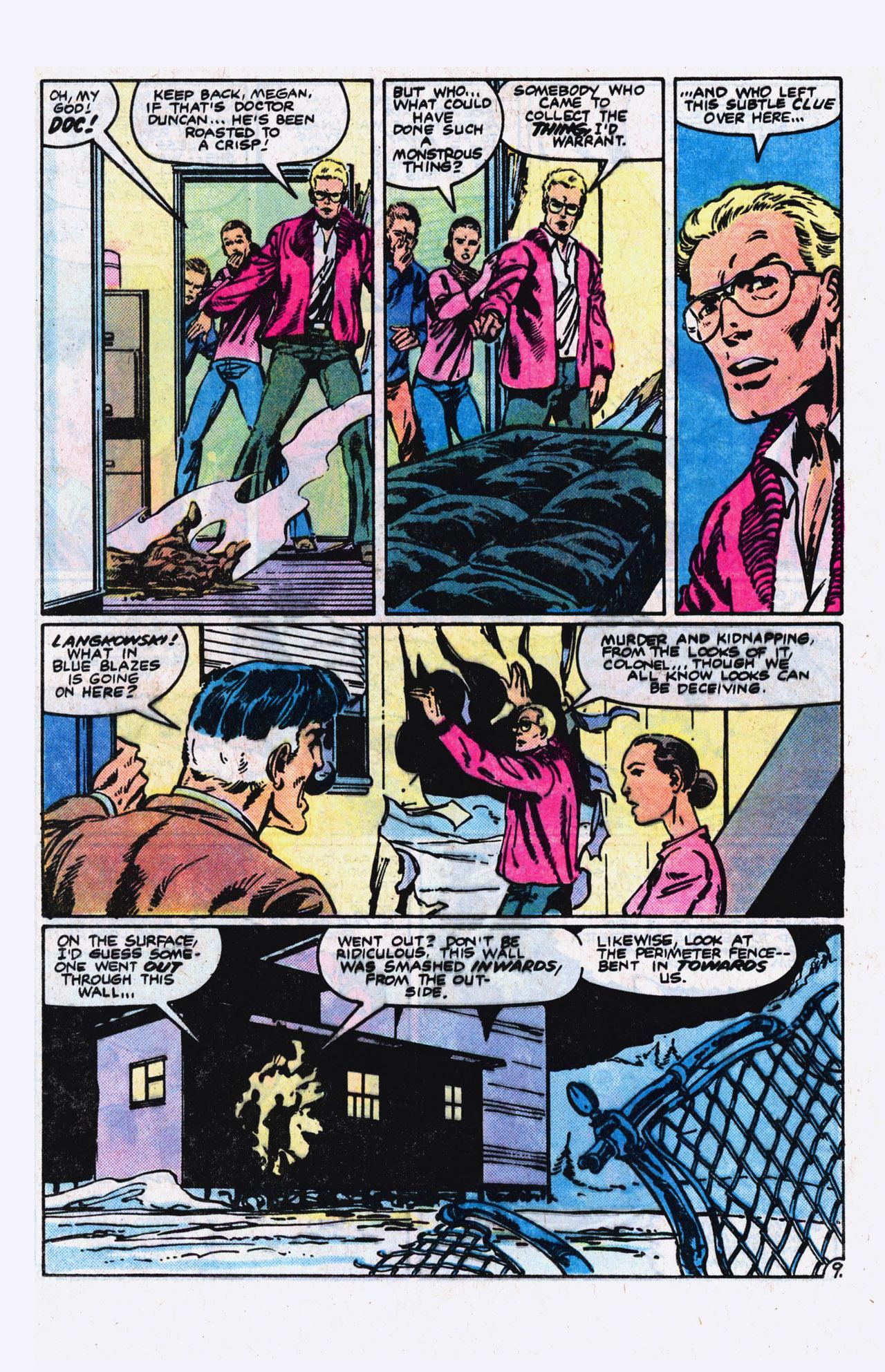 Read online Alpha Flight (1983) comic -  Issue #9 - 10