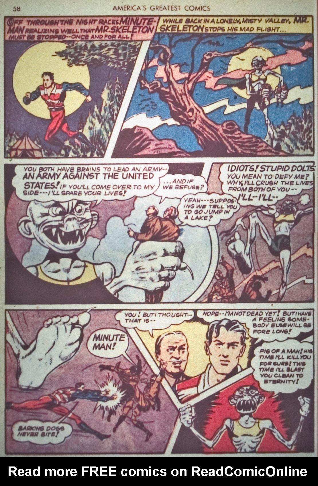 Read online America's Greatest Comics comic -  Issue #1 - 61