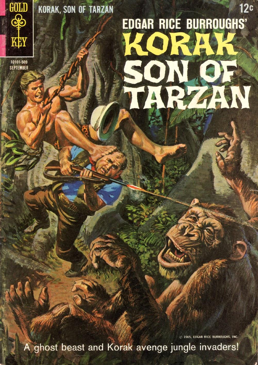 Korak, Son of Tarzan (1964) issue 10 - Page 1
