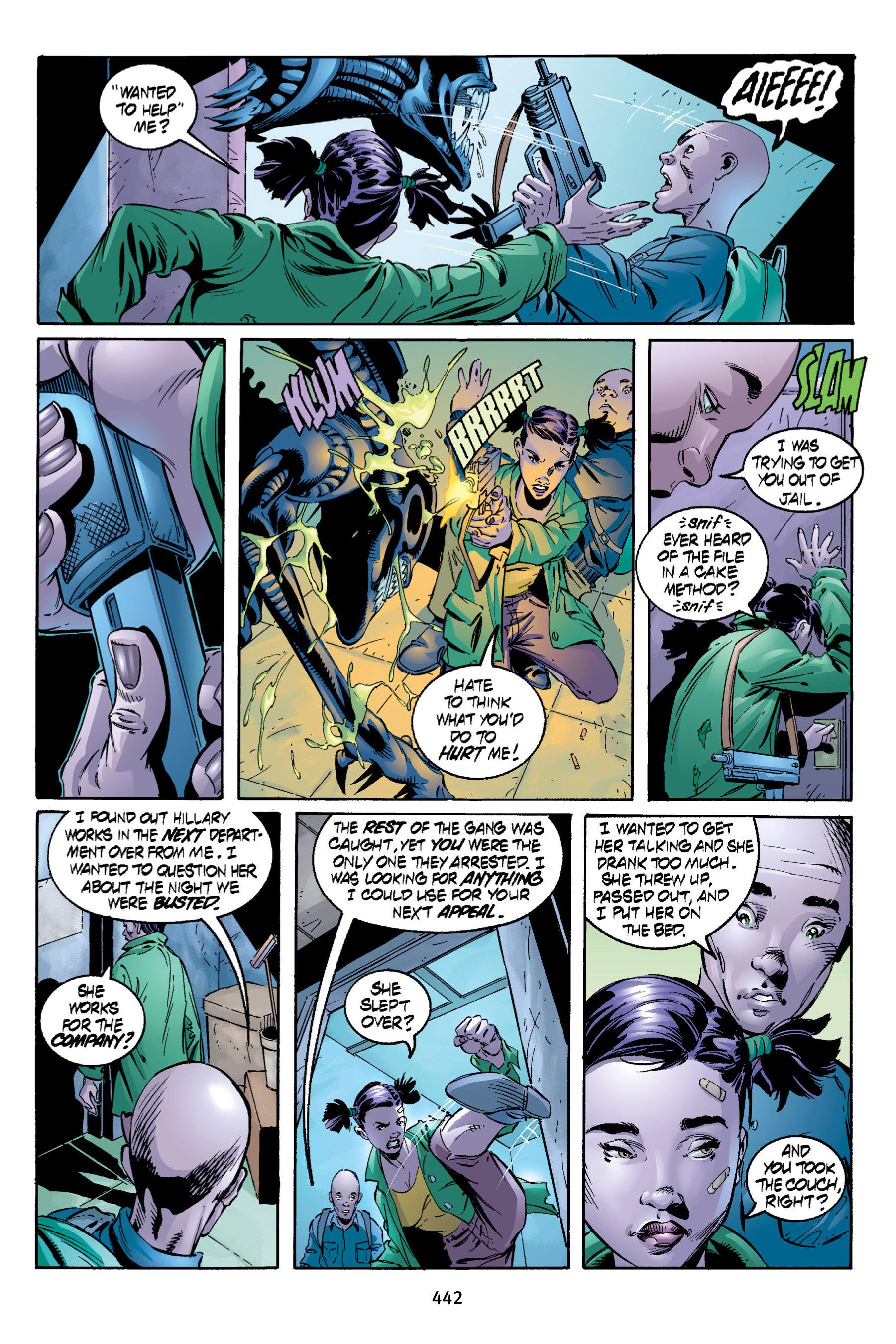 Read online Aliens vs. Predator Omnibus comic -  Issue # _TPB 2 Part 4 - 104