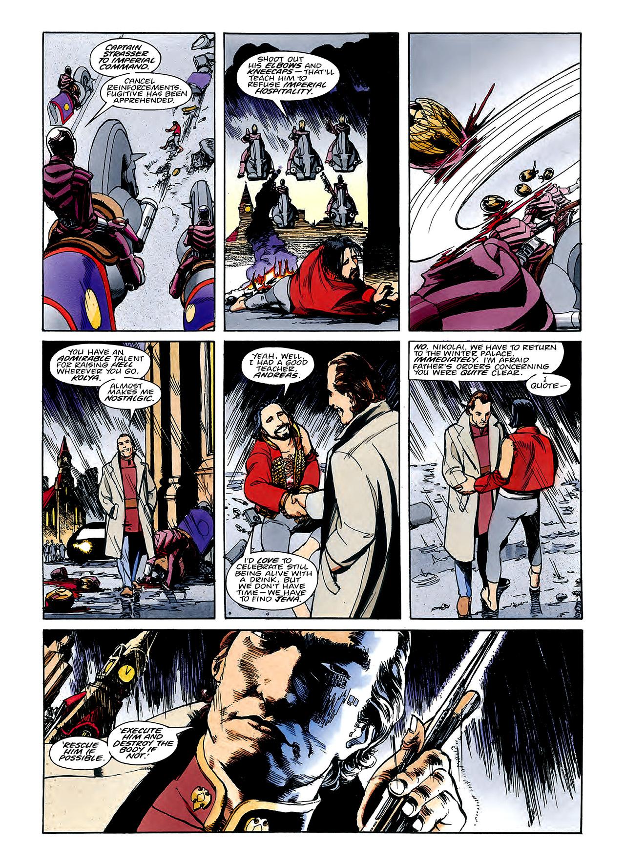 Read online Nikolai Dante comic -  Issue # TPB 3 - 94