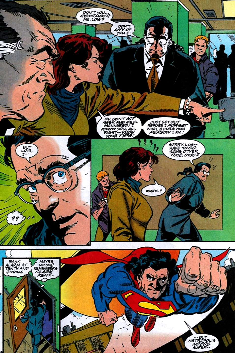 Read online Adventures of Superman (1987) comic -  Issue #516 - 5