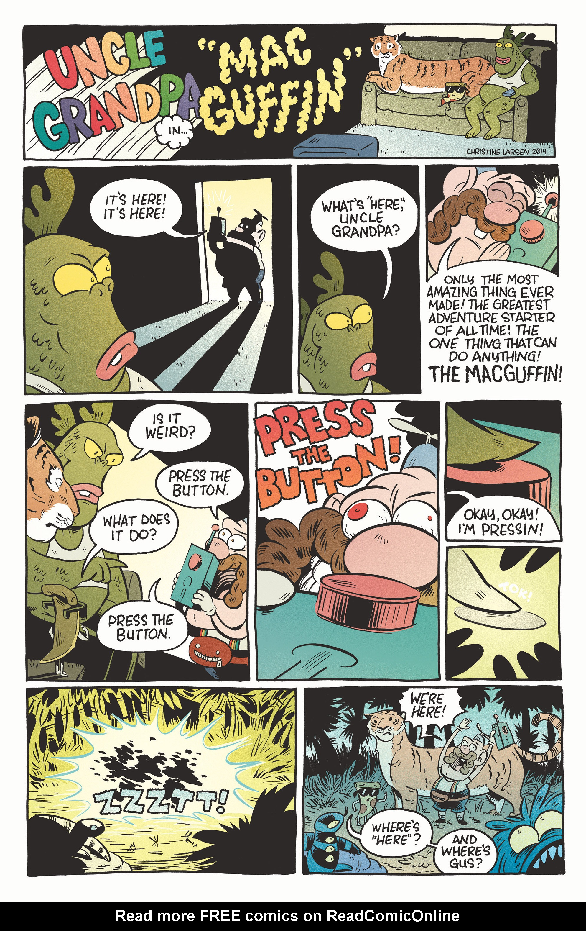 Read online Uncle Grandpa comic -  Issue #4 - 8