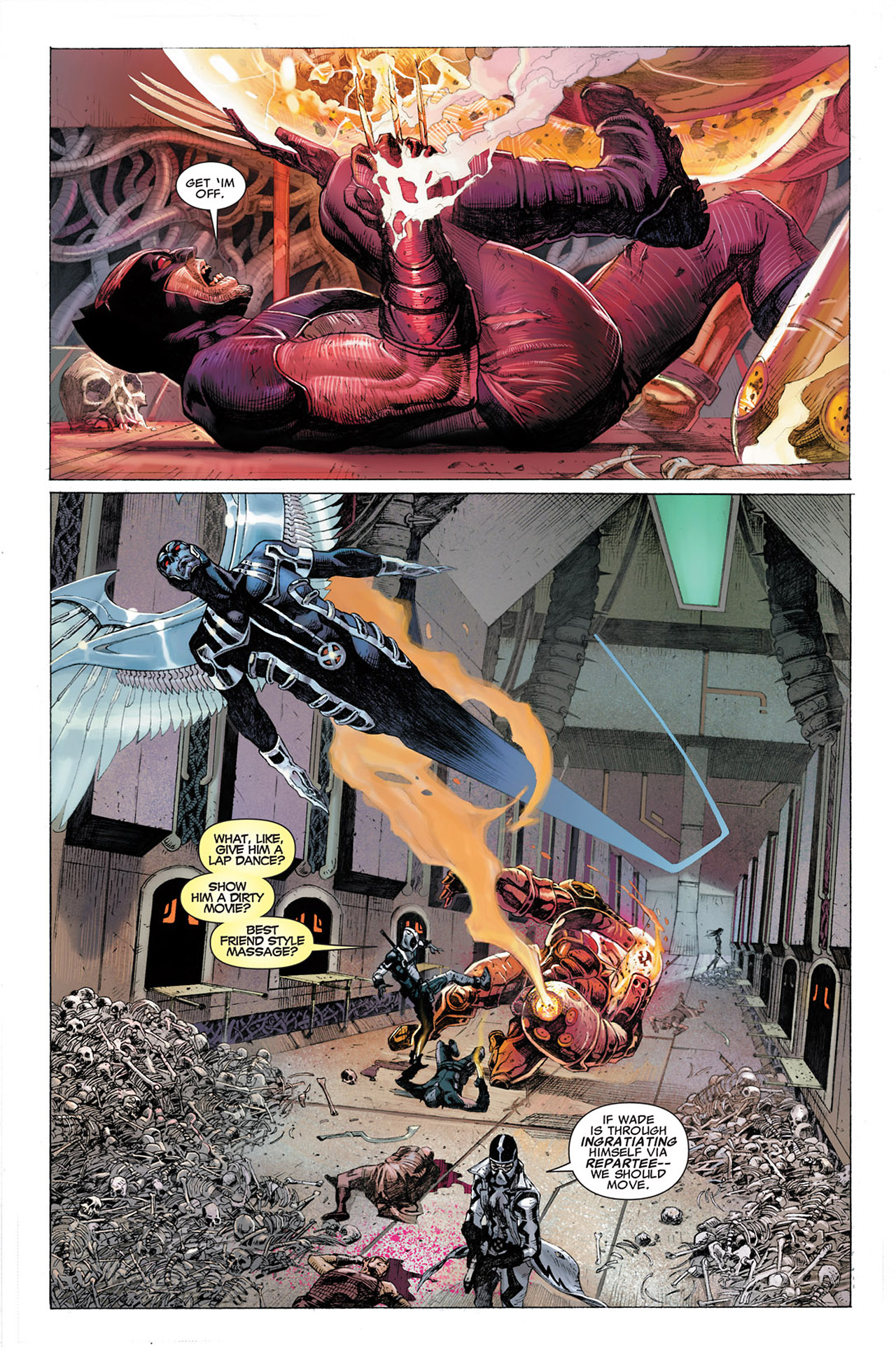 Read online Uncanny X-Force (2010) comic -  Issue #2 - 3