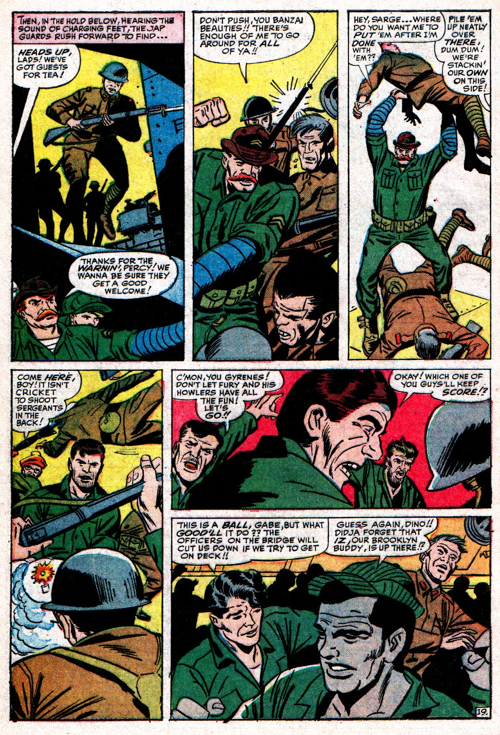 Read online Sgt. Fury comic -  Issue #10 - 28