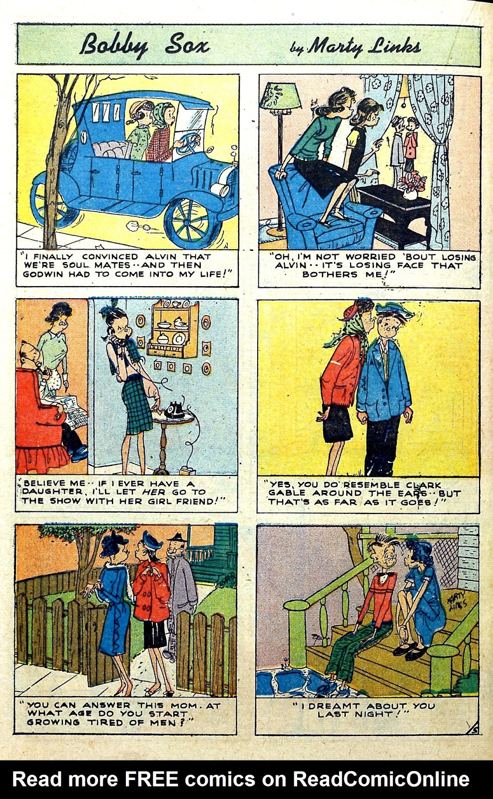 Read online Famous Funnies comic -  Issue #187 - 34