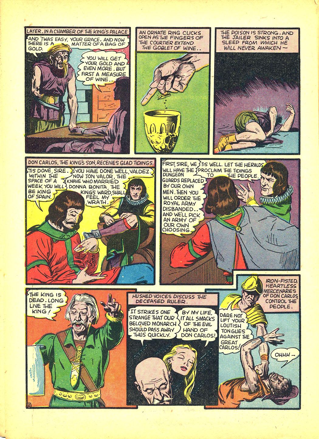 Read online Sensation (Mystery) Comics comic -  Issue #4 - 18