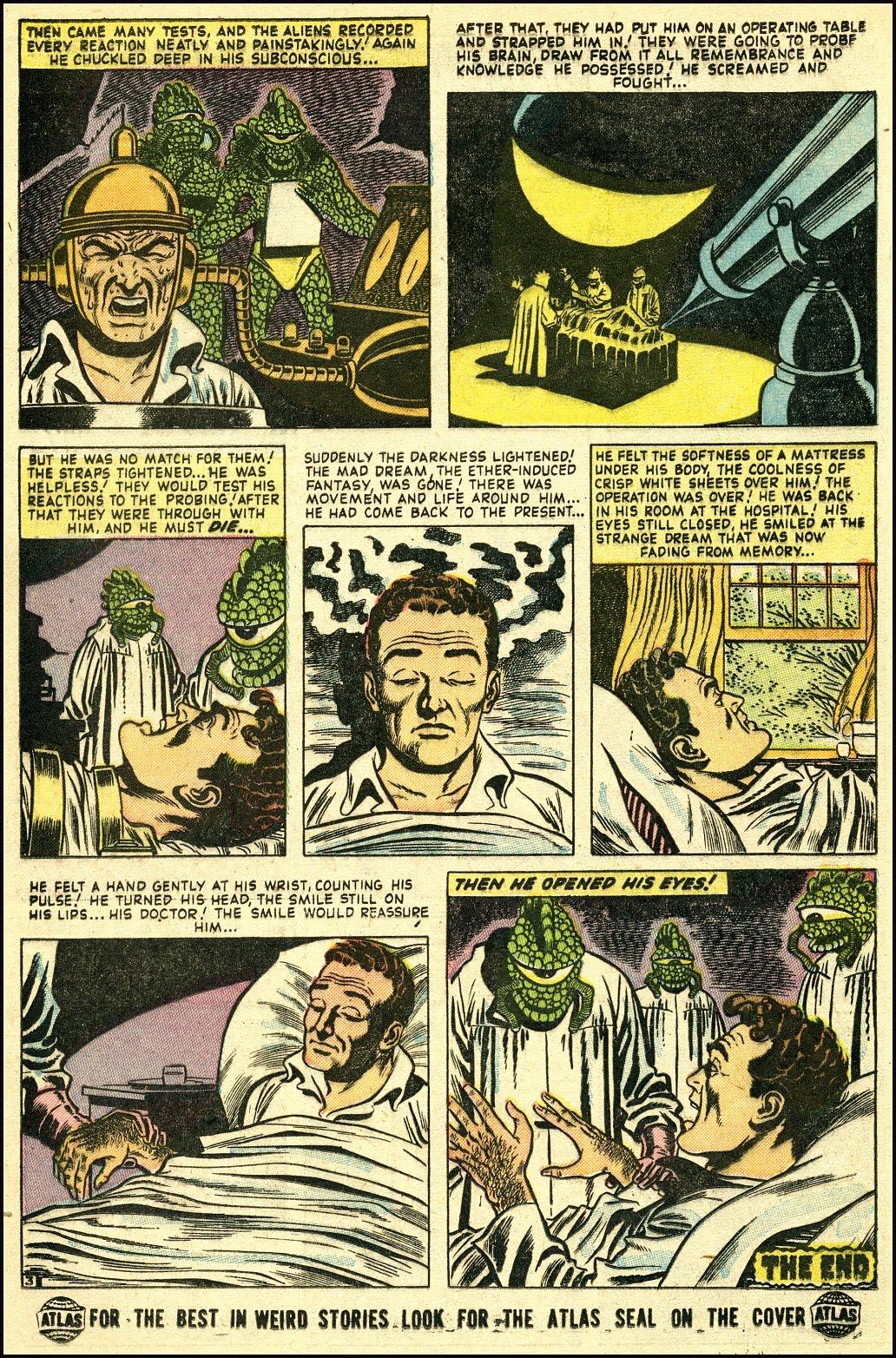 Read online Adventures into Weird Worlds comic -  Issue #25 - 16
