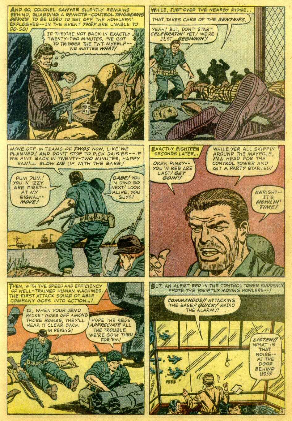 Read online Sgt. Fury comic -  Issue # _Annual 1 - 11