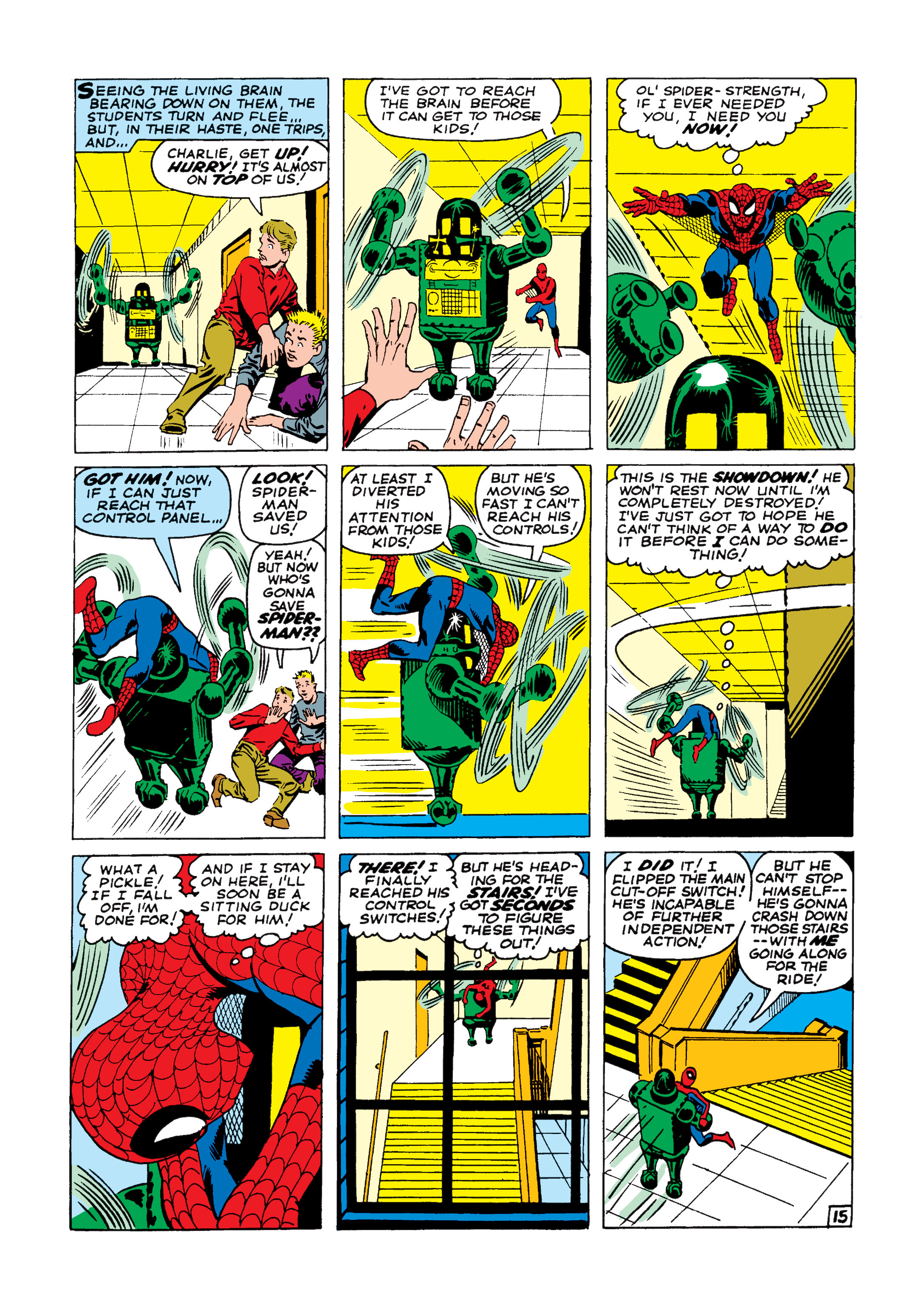 The Amazing Spider-Man (1963) 8 Page 15