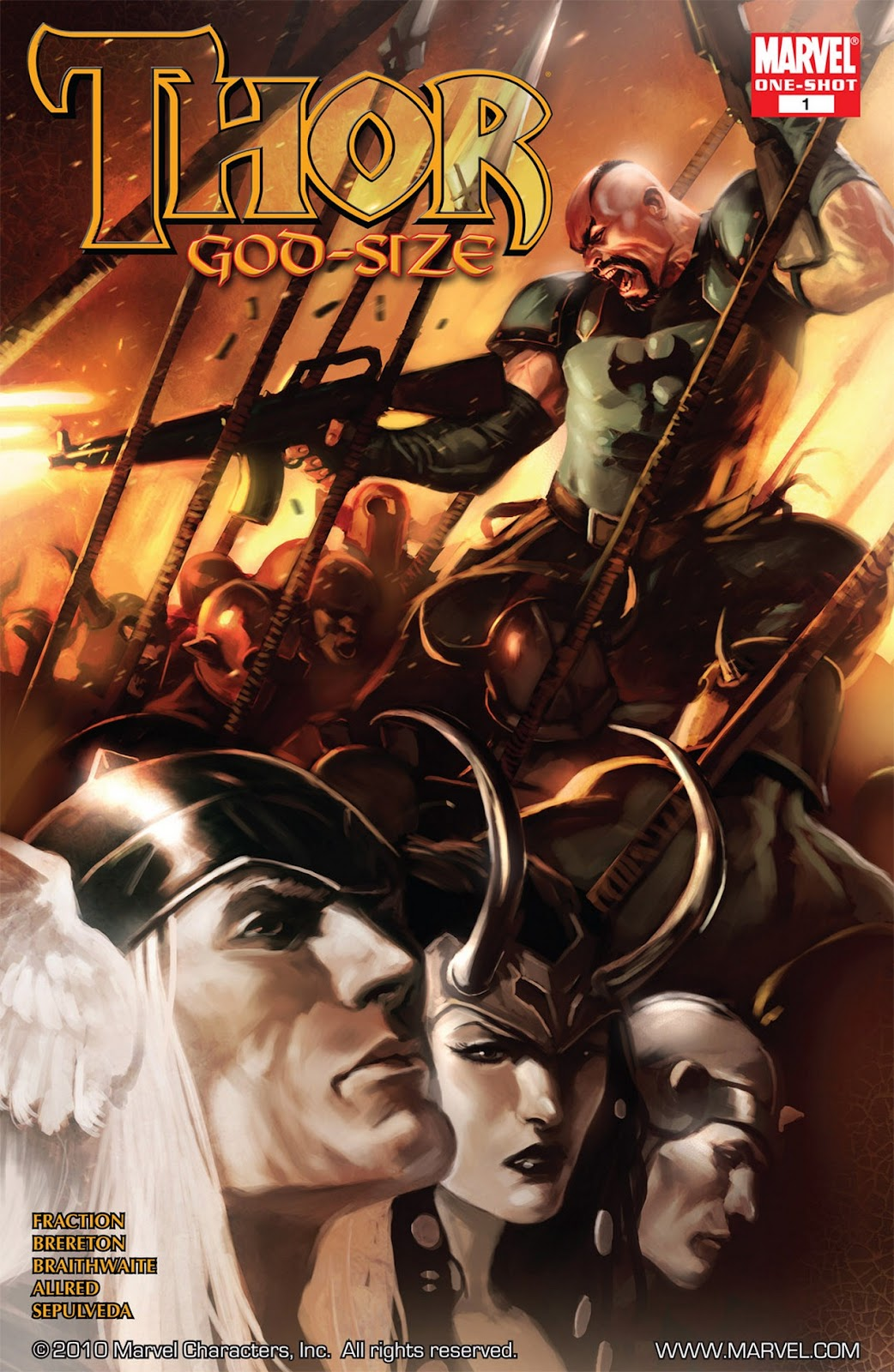Thor God-Size Special issue Full - Page 1