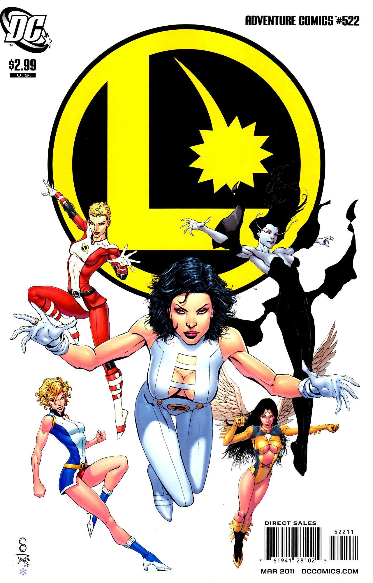 Read online Adventure Comics (1938) comic -  Issue #522 - 1