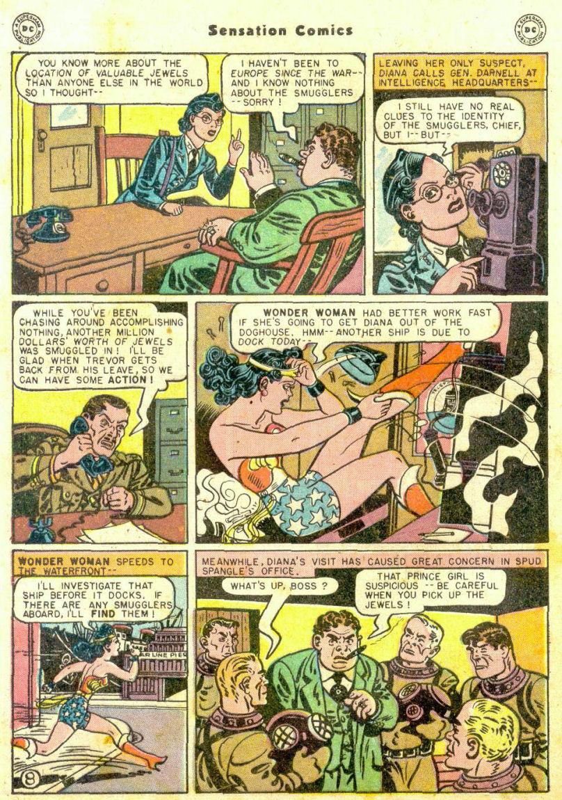 Read online Sensation (Mystery) Comics comic -  Issue #74 - 10