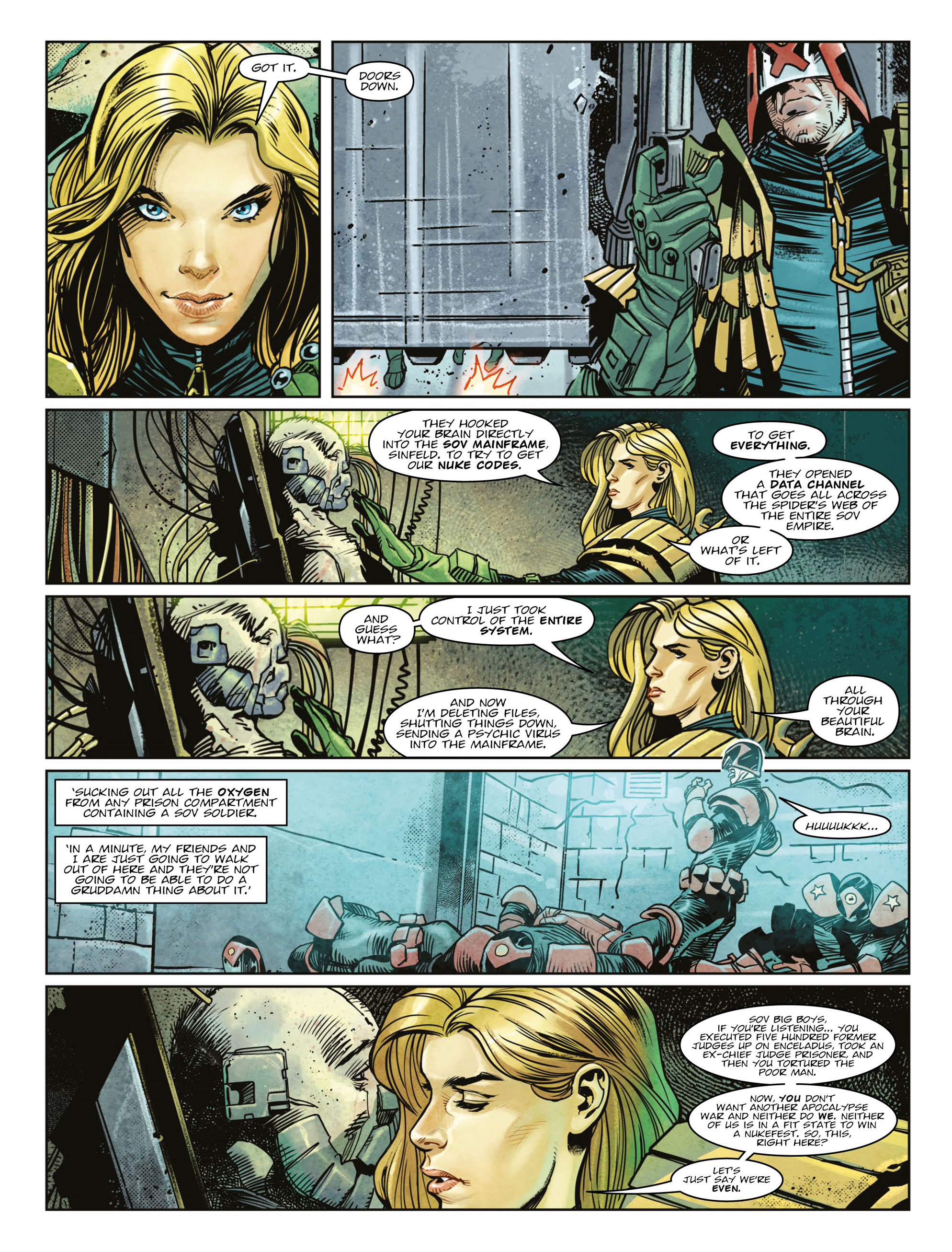 Read online 2000 AD comic -  Issue #2003 - 7