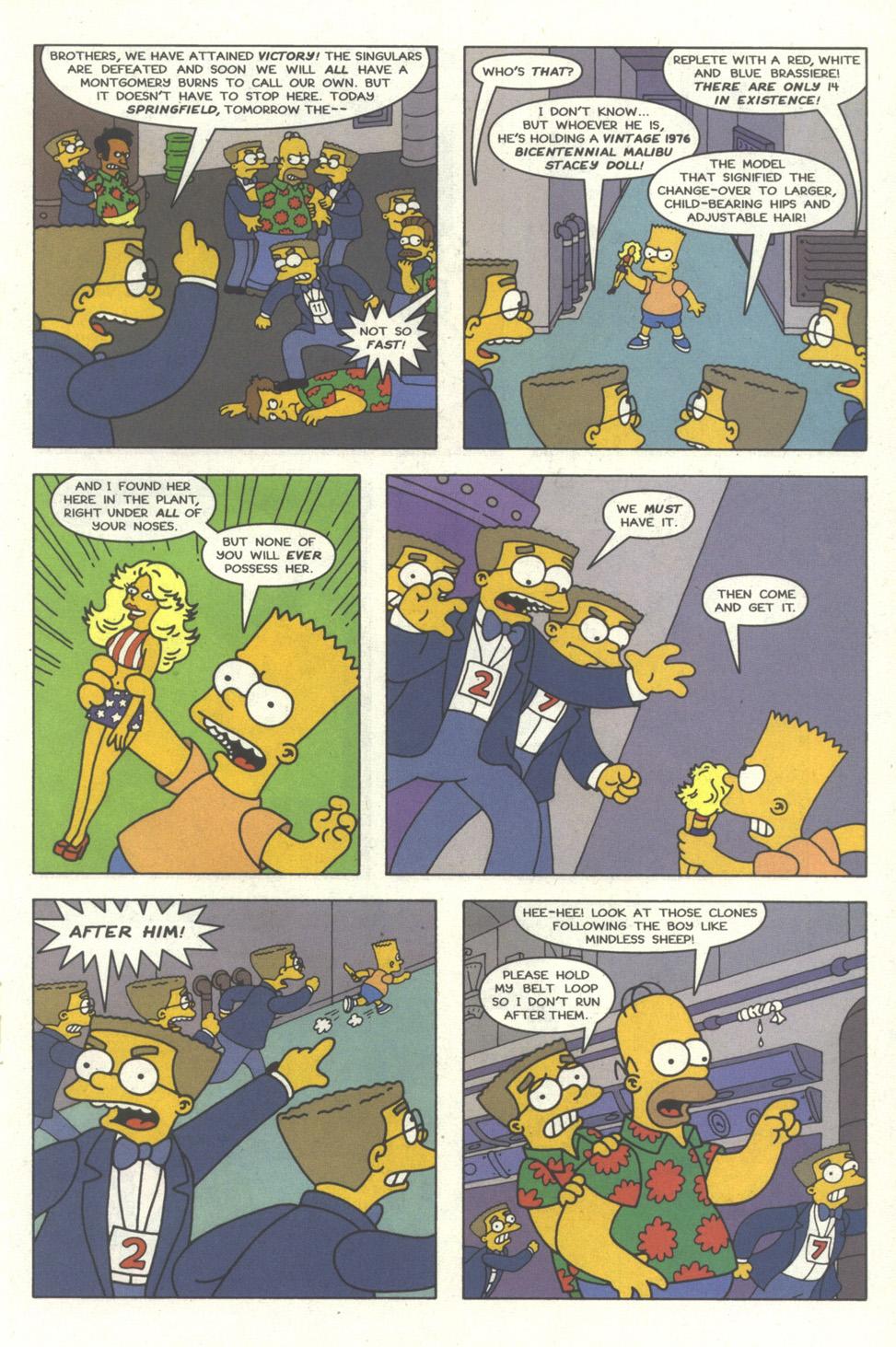 Read online Simpsons Comics comic -  Issue #30 - 18