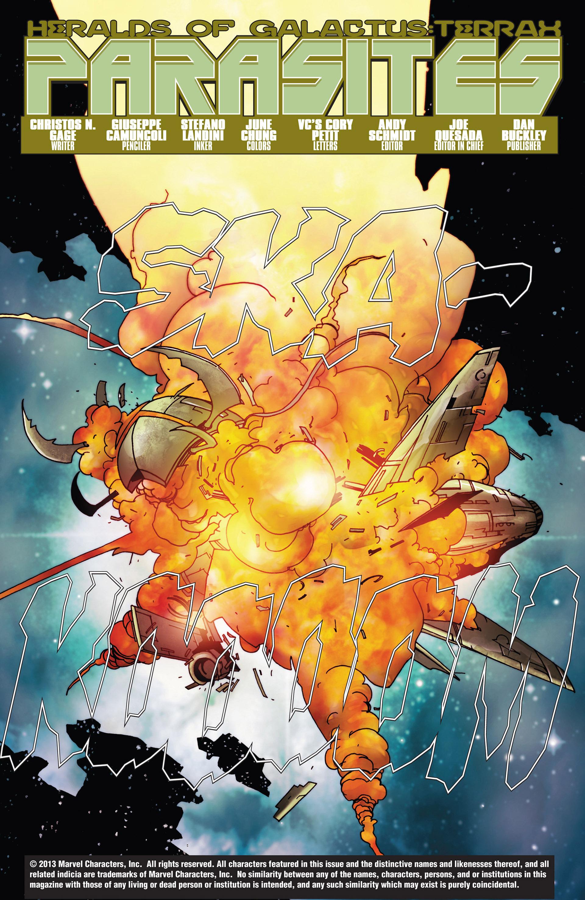 Read online Annihilation: Heralds Of Galactus comic -  Issue #1 - 4