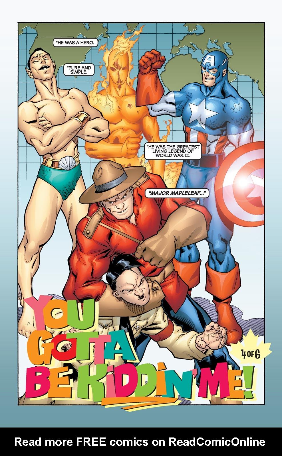 Read online Alpha Flight (2004) comic -  Issue #4 - 4