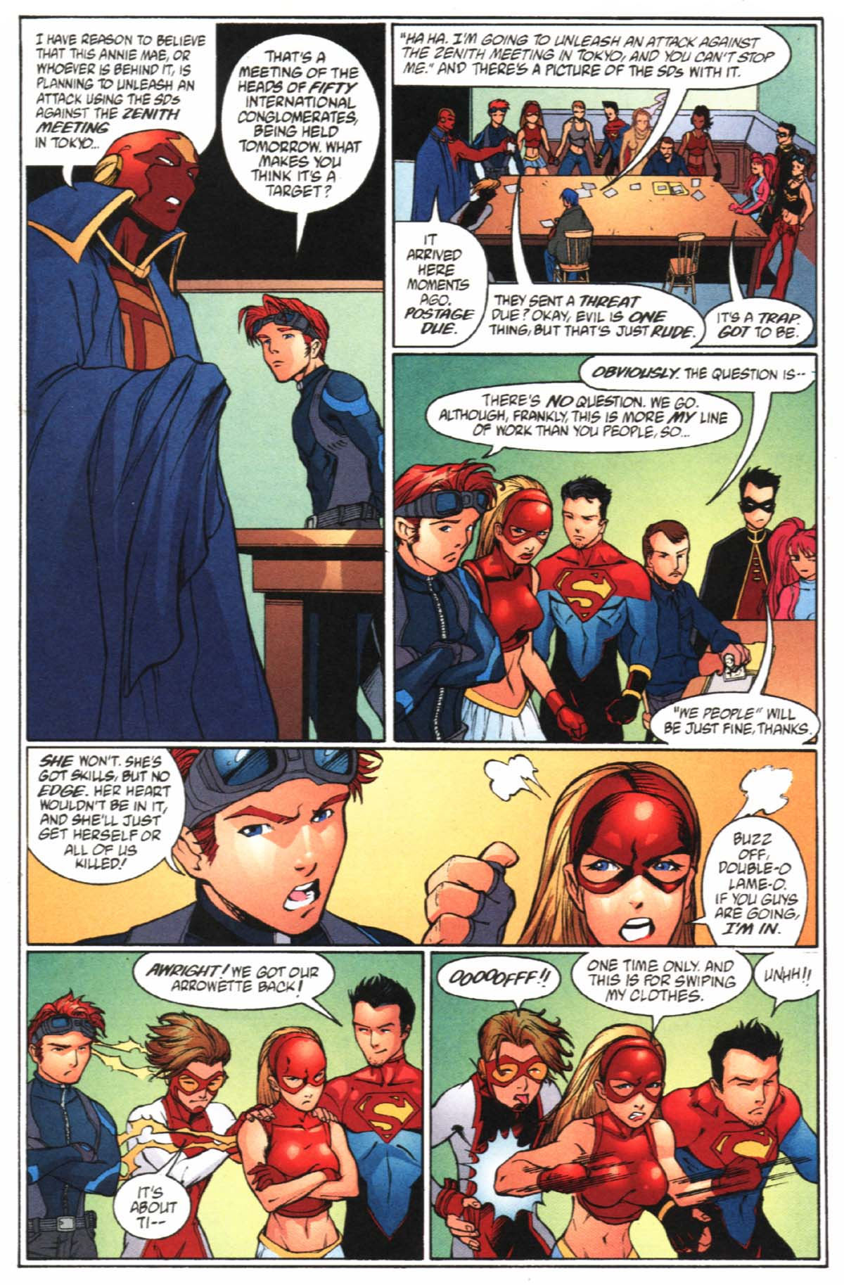 Read online SpyBoy/Young Justice comic -  Issue #2 - 21